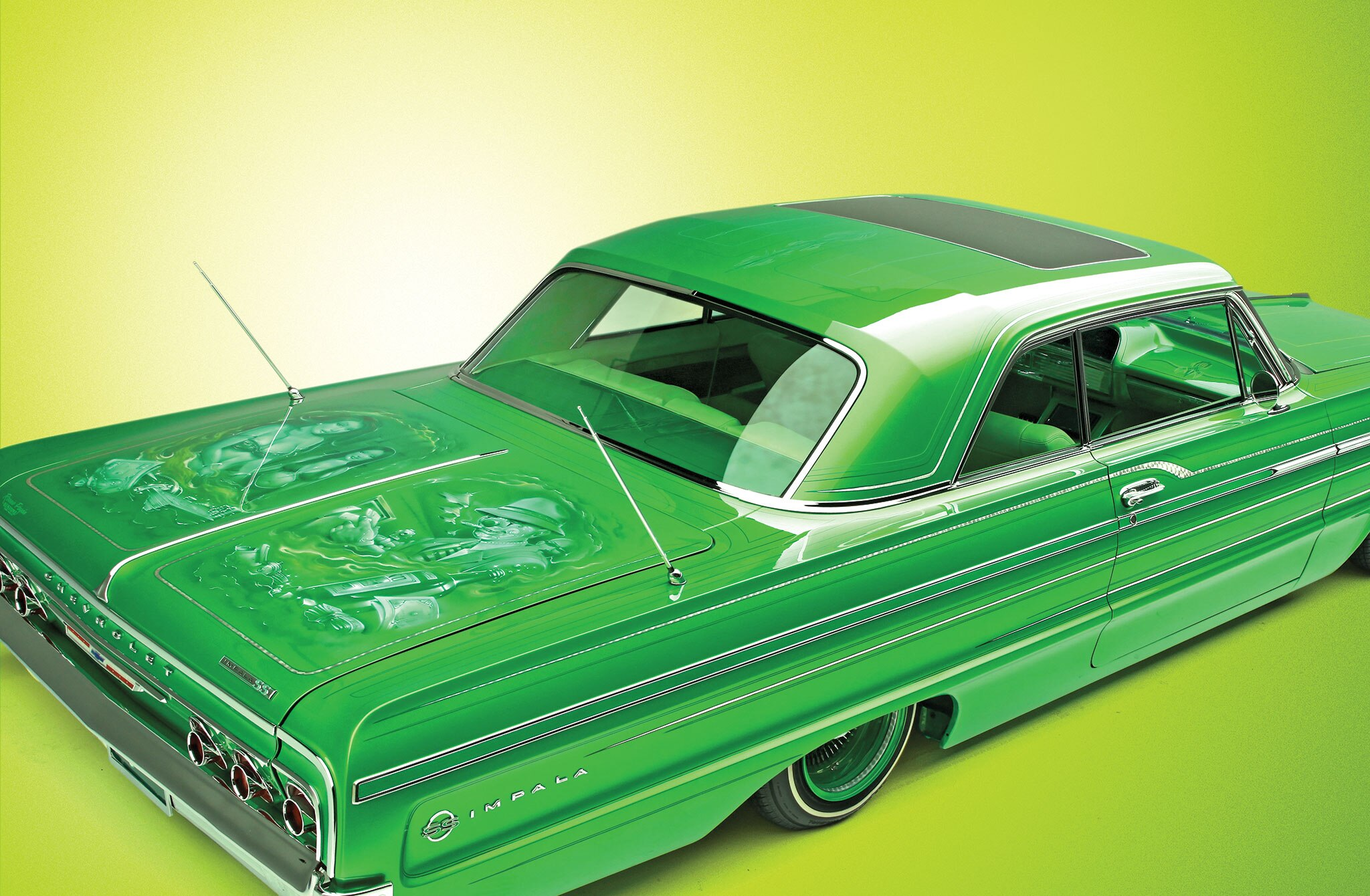 september-2014-editors-letter-candy-lime-green-impala1