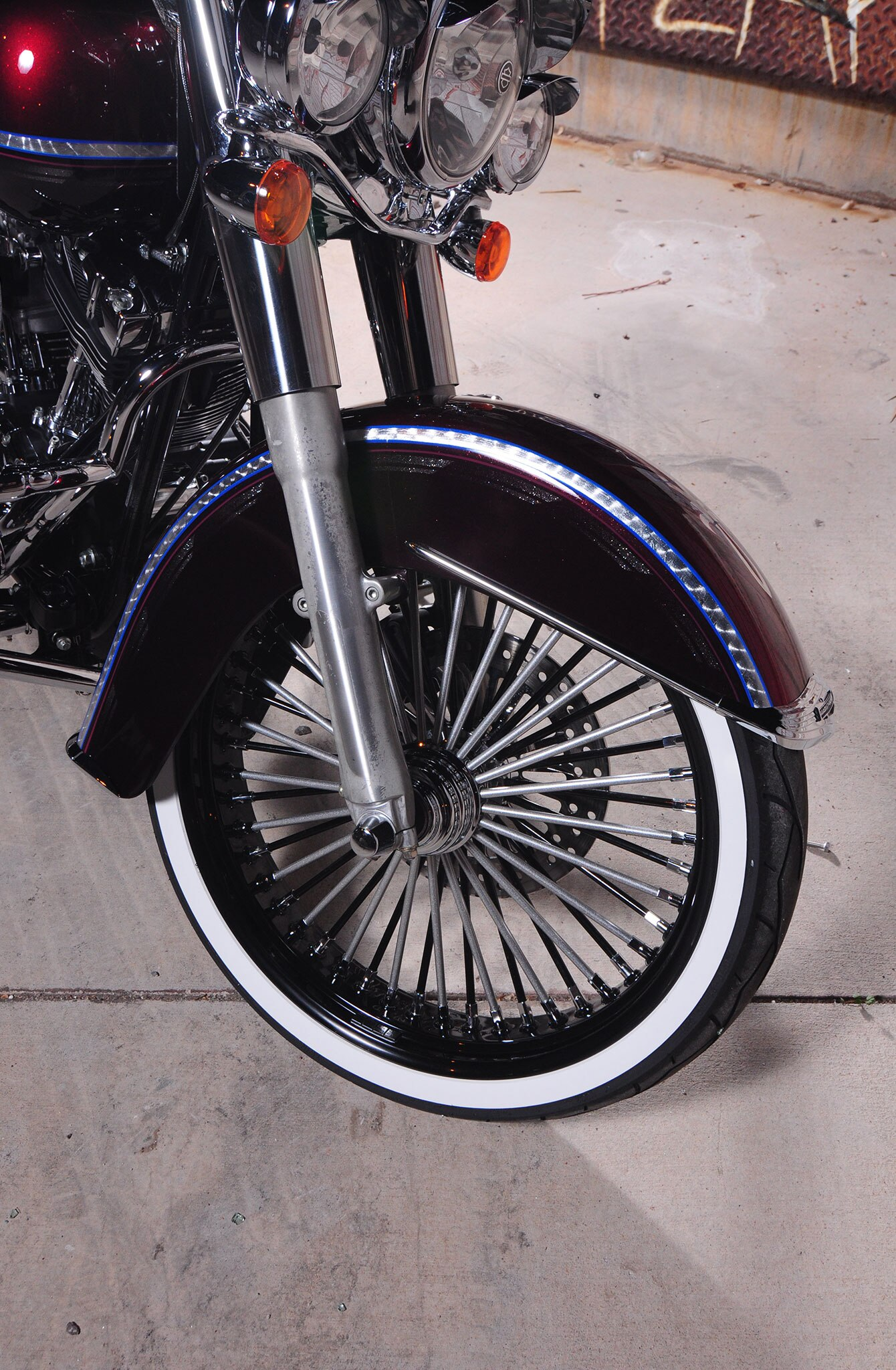 Harley Davidson Softail Ride Wright Wheel