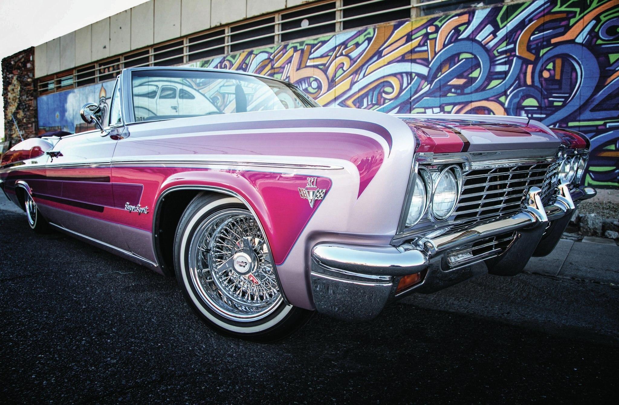 66 Impala 4 Door Lowrider