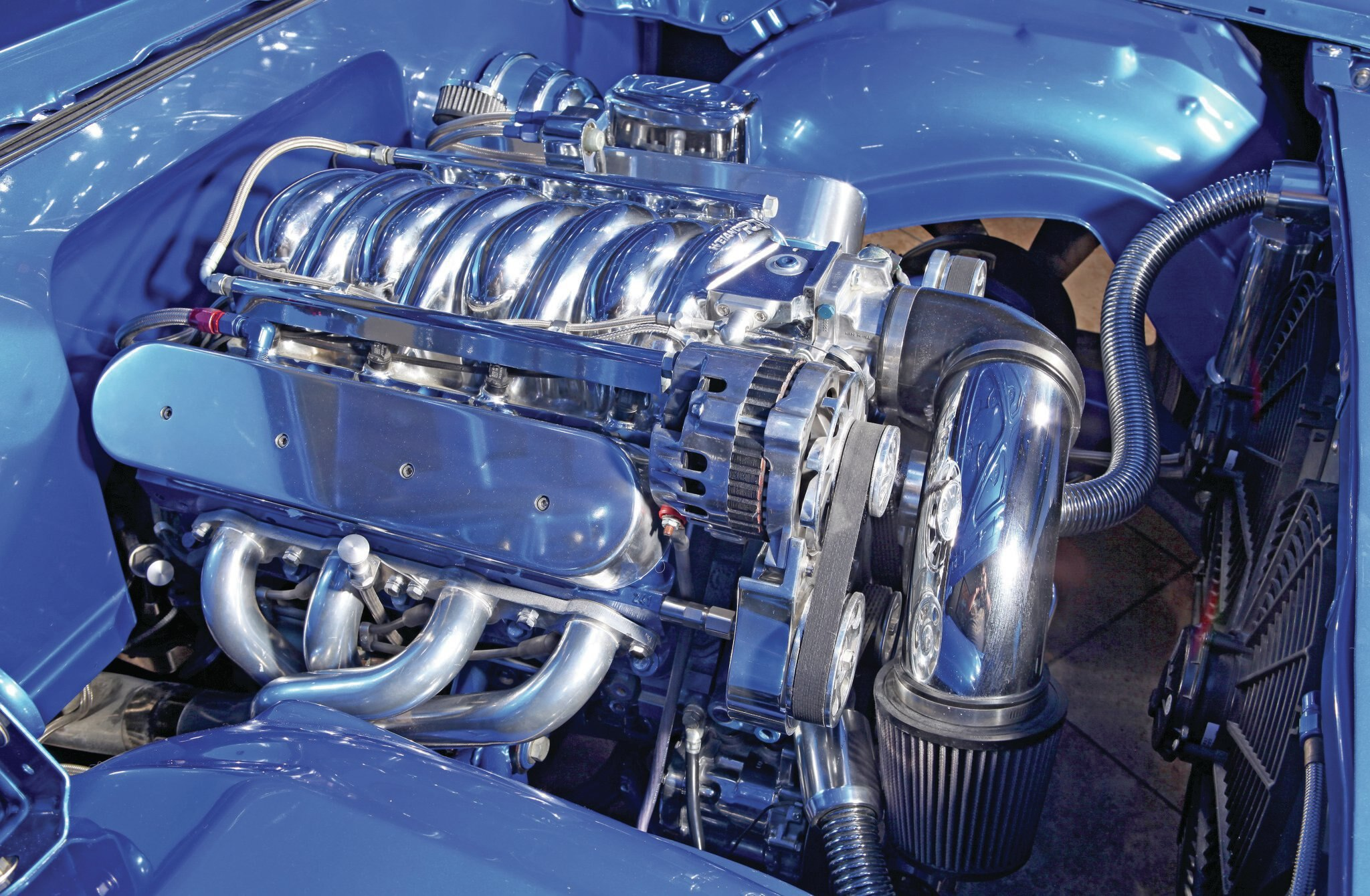 Cadillac Coupe Deville Ls Engine on 1966 Cadillac Engine Swap