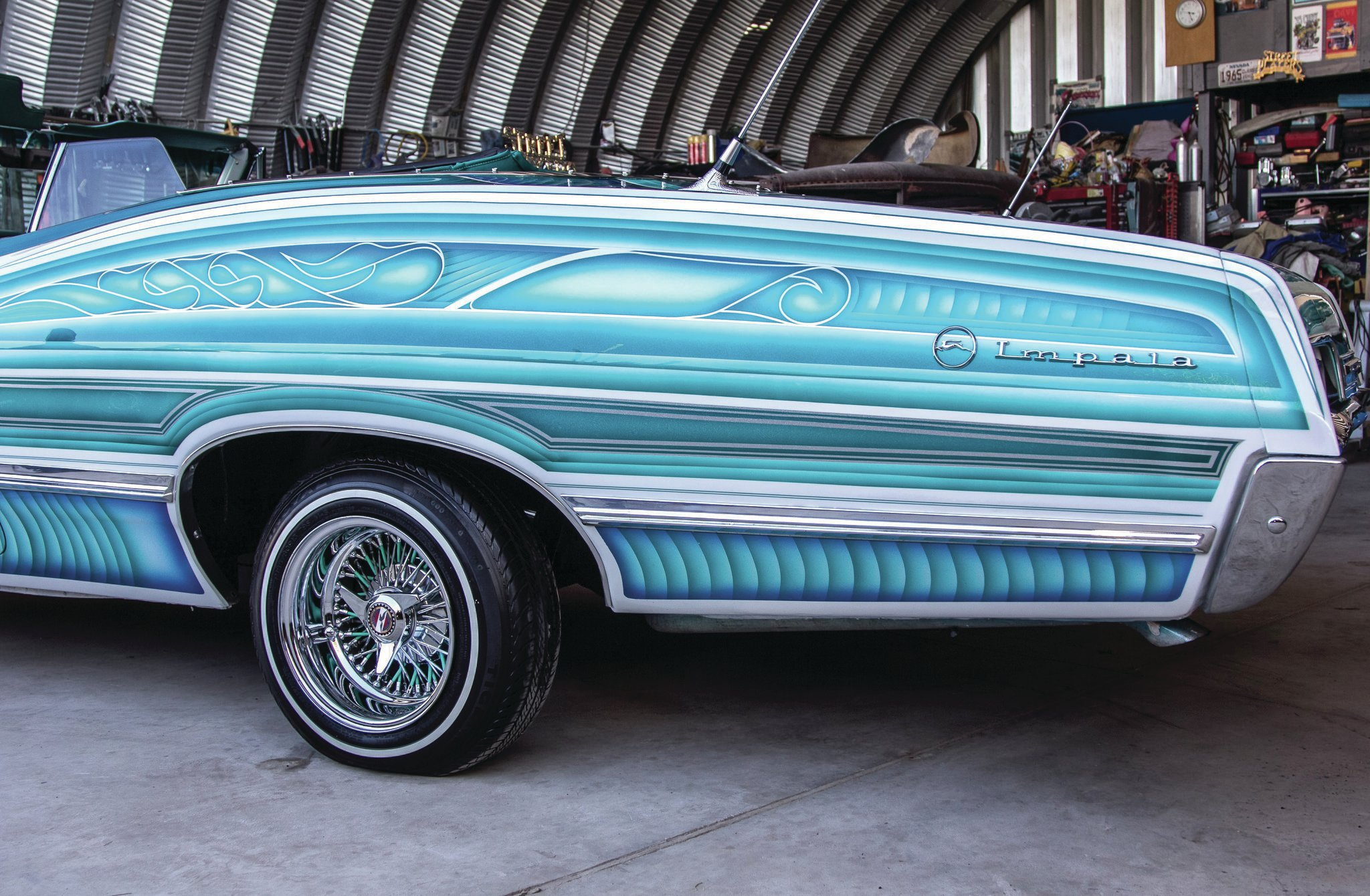 1967 Chevrolet Impala Convertible A 67 Street Player In
