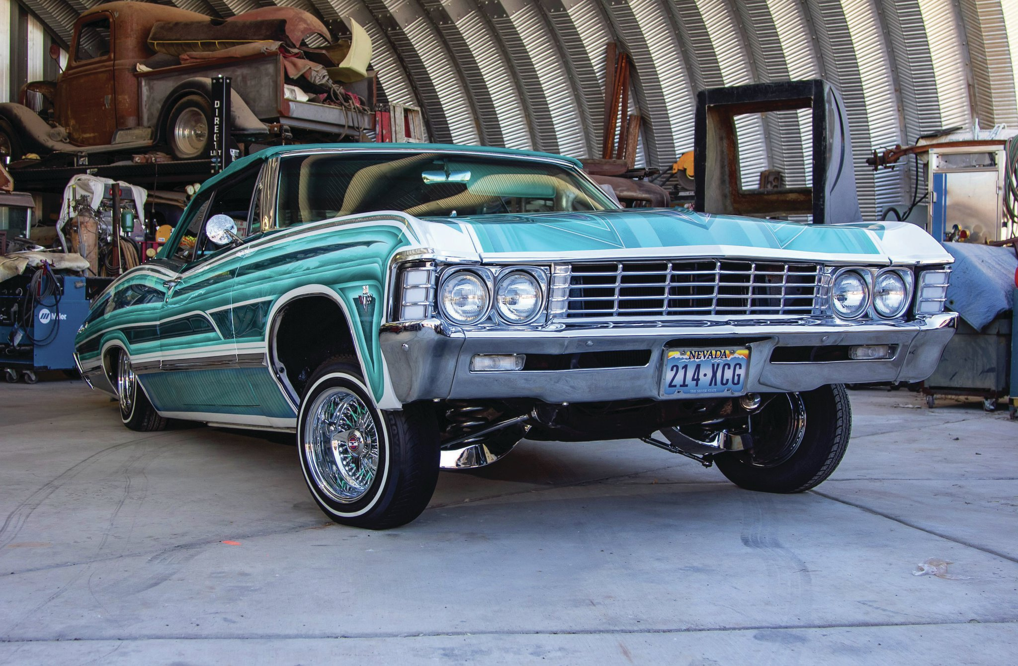 1967 chevrolet impala convertible - a '67 street player in