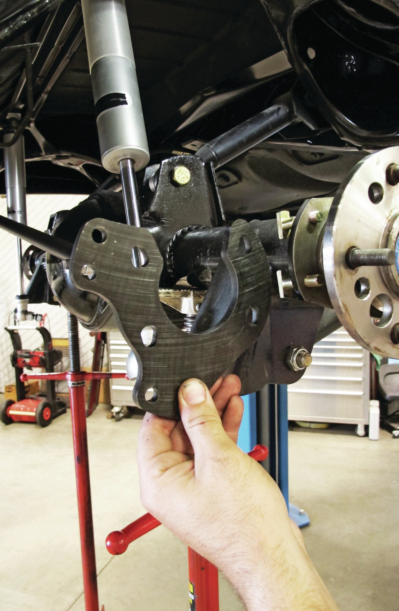 Rear Brake Caliper >> How to Install CPP's Ford Rear Disc on a '68 Impala - Low 'N' Slow
