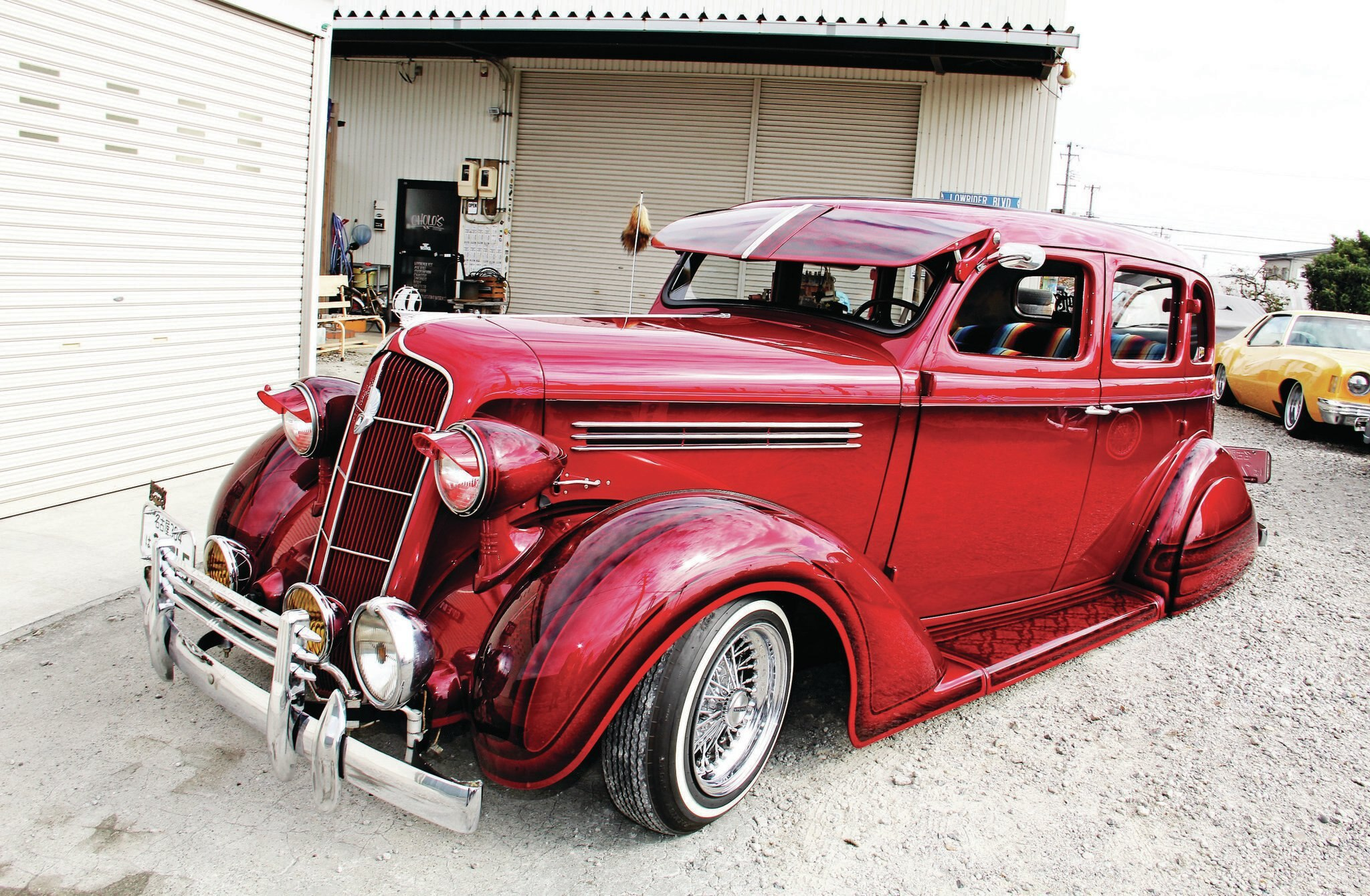 1935 Plymouth Pj Changing Times
