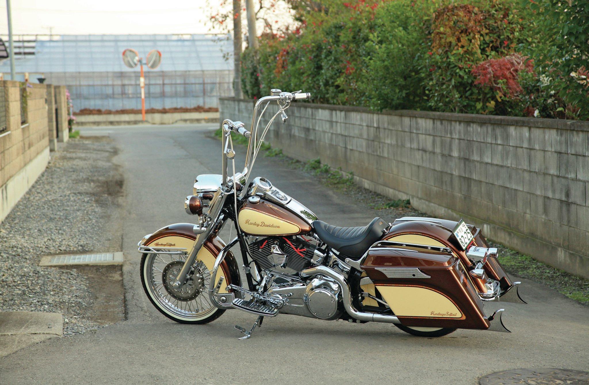 How To Make Harley Davidson Heritage Softail Chopper