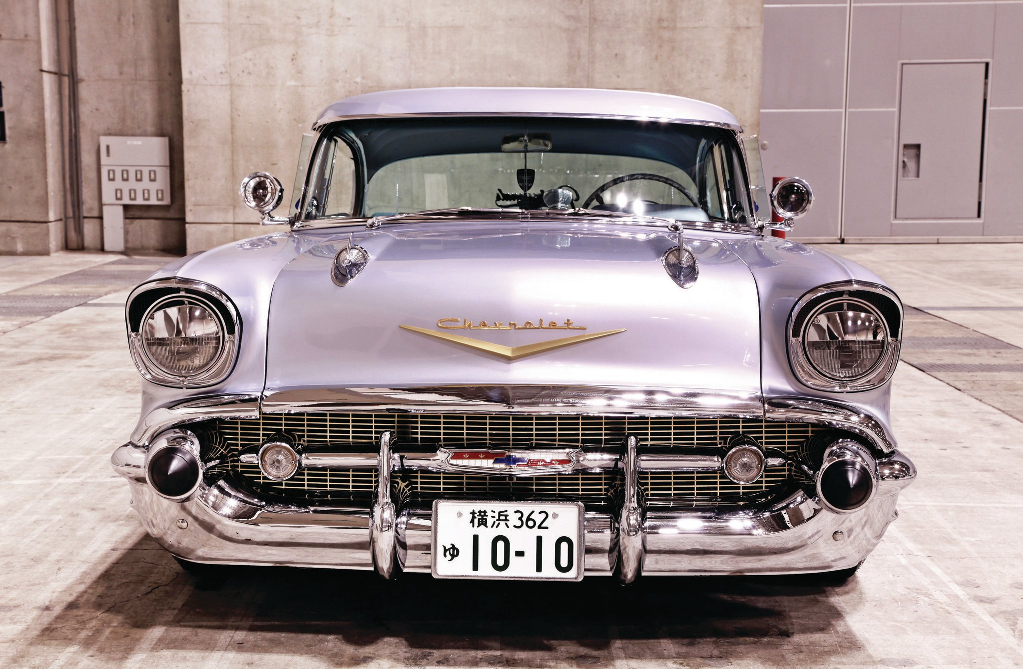 1957 Chevrolet Bel Air - Hard On The Blvd