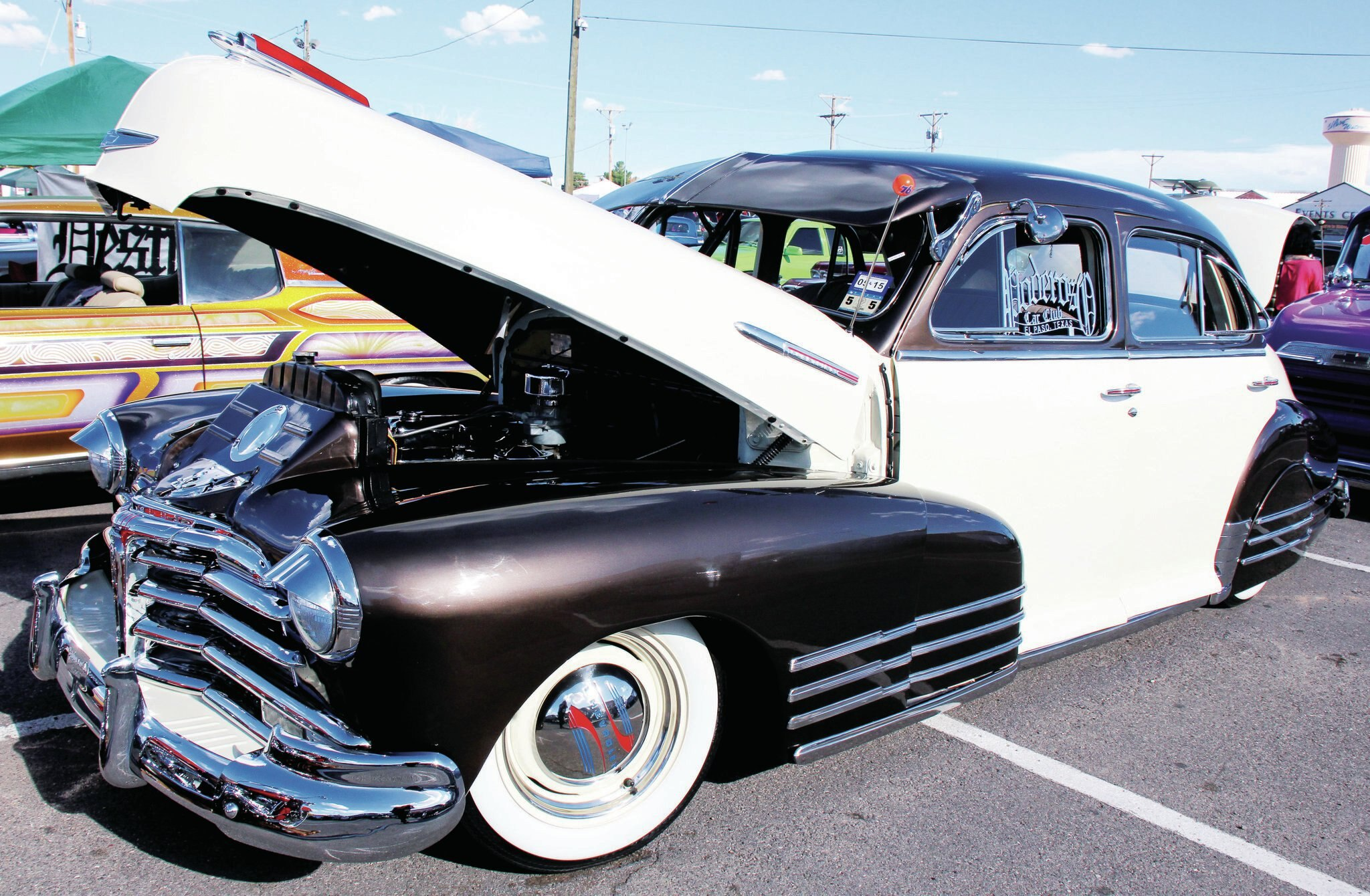 El paso texas lowrider show the tour stops here for Red line motors el paso tx