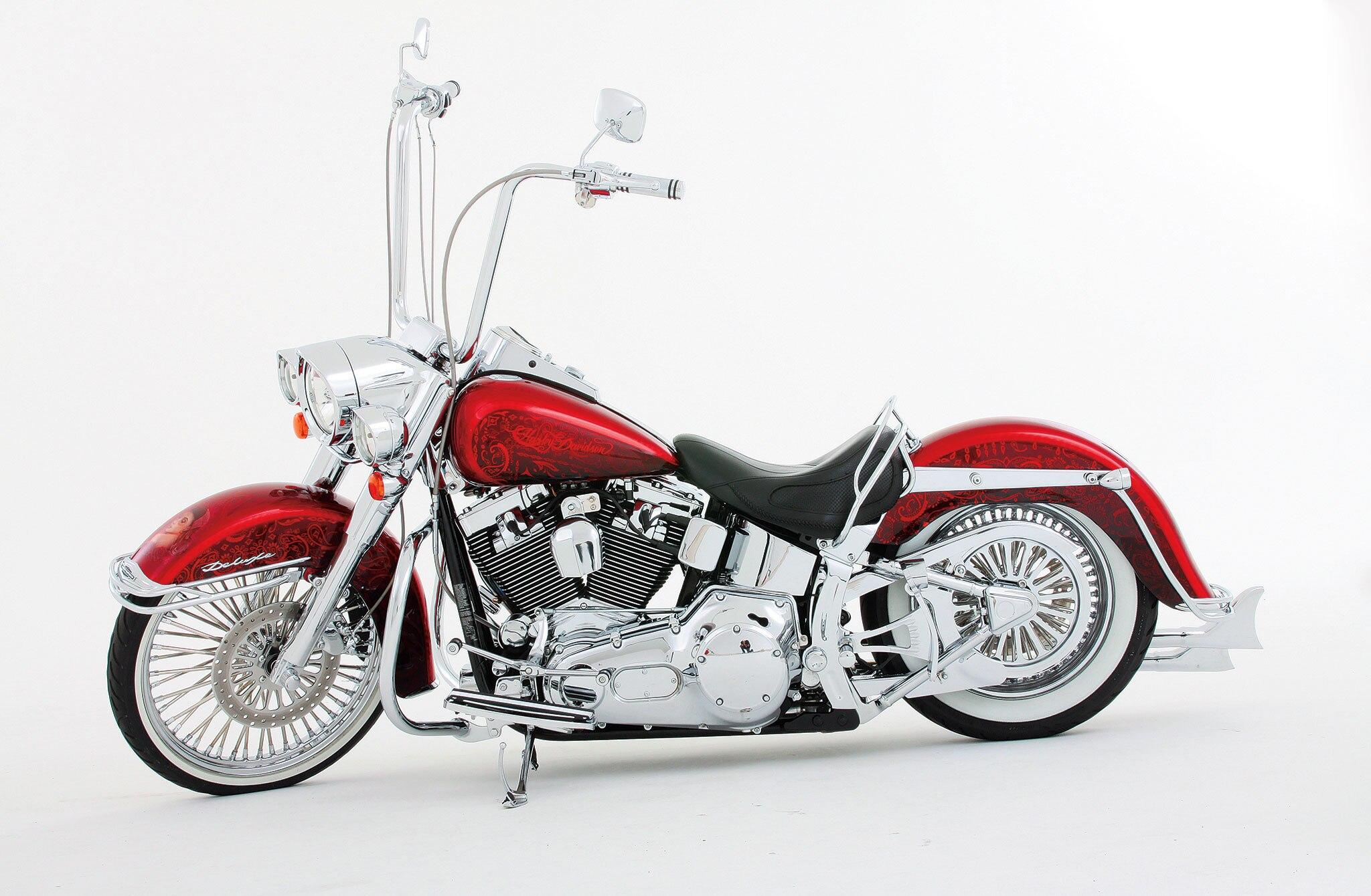 Lowrider Miami >> 2005 Harley Davidson Softail Deluxe - Dia de Los Muertos - Lowrider