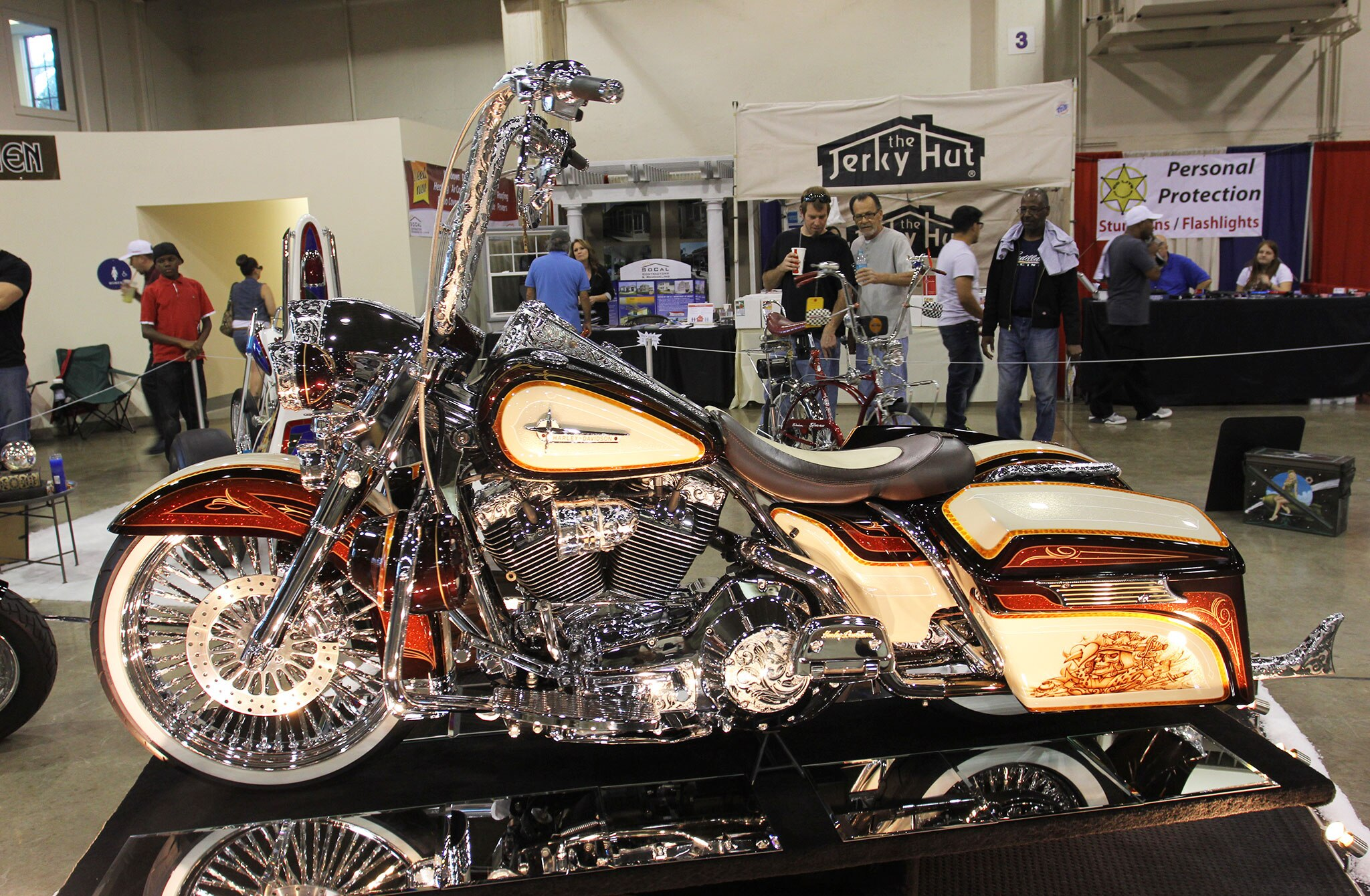 Motorcycles Of The Grand National Roadster Show Lowrider