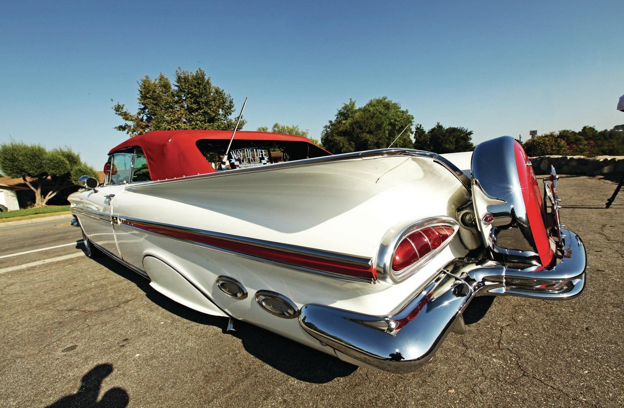 1959 chevrolet impala convertible semi retired. Black Bedroom Furniture Sets. Home Design Ideas