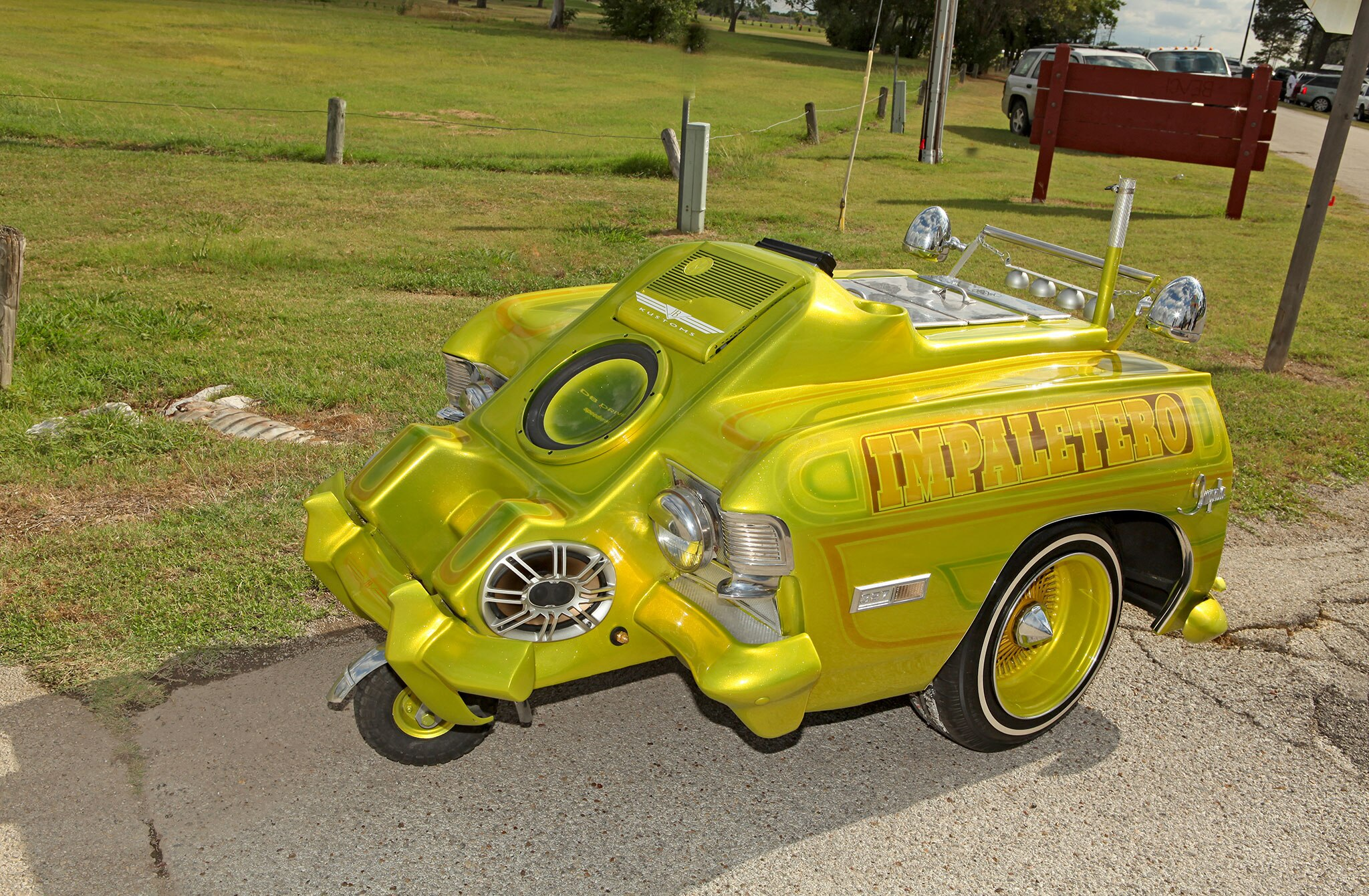 1968 Custom Ice Cream Cart El Impaetero