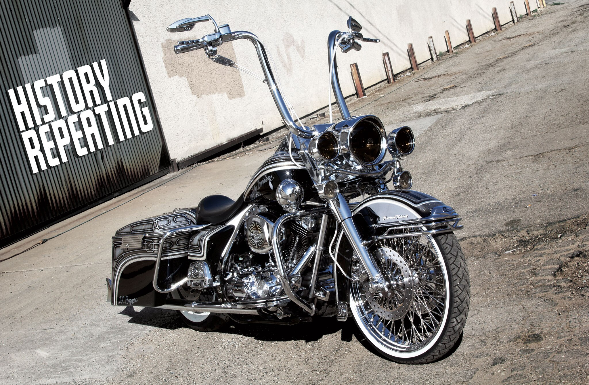 Harley Davidson  Road King Factory Paint Colors