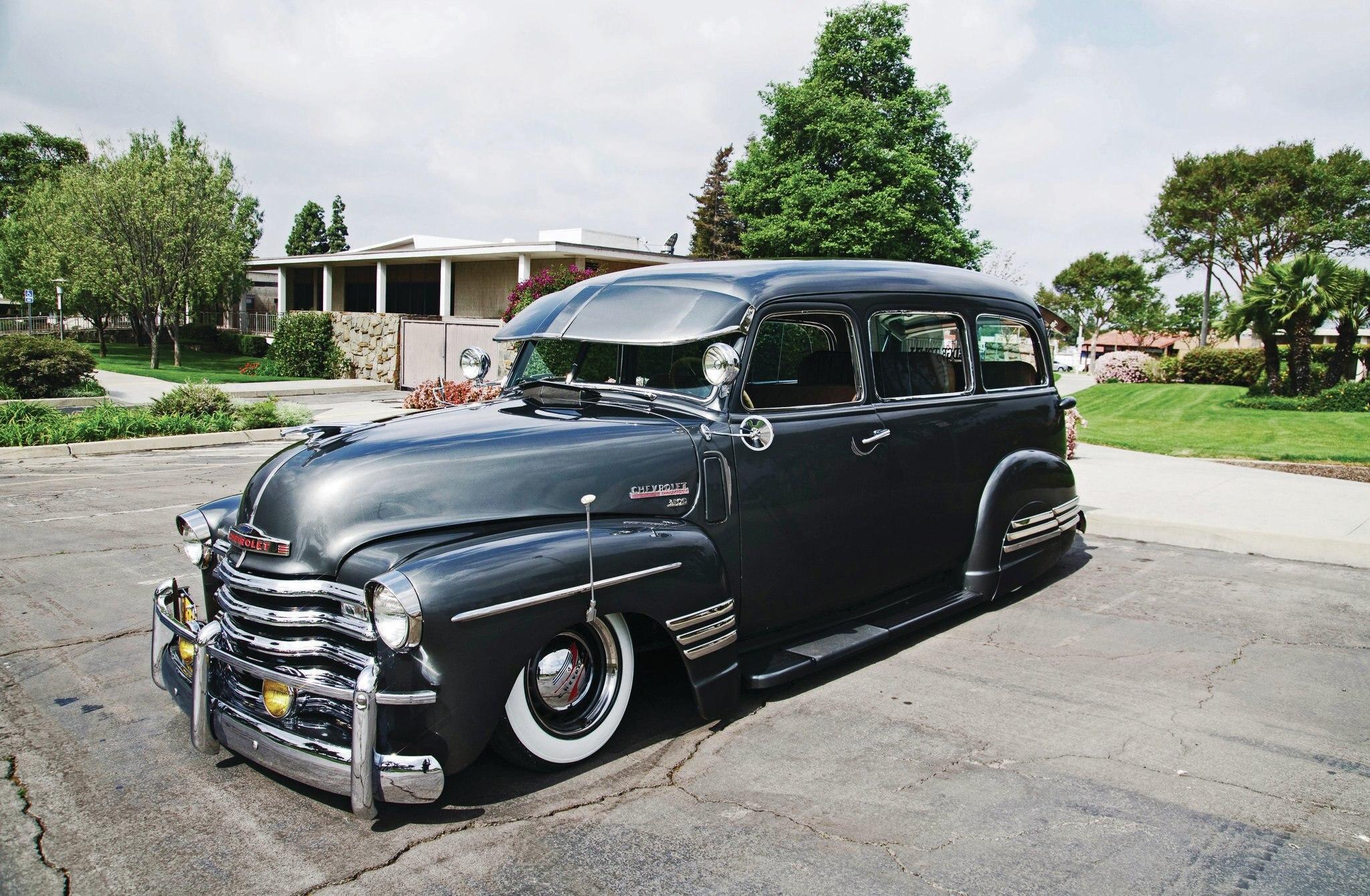 1948 Chevrolet Suburban Bomb Threat