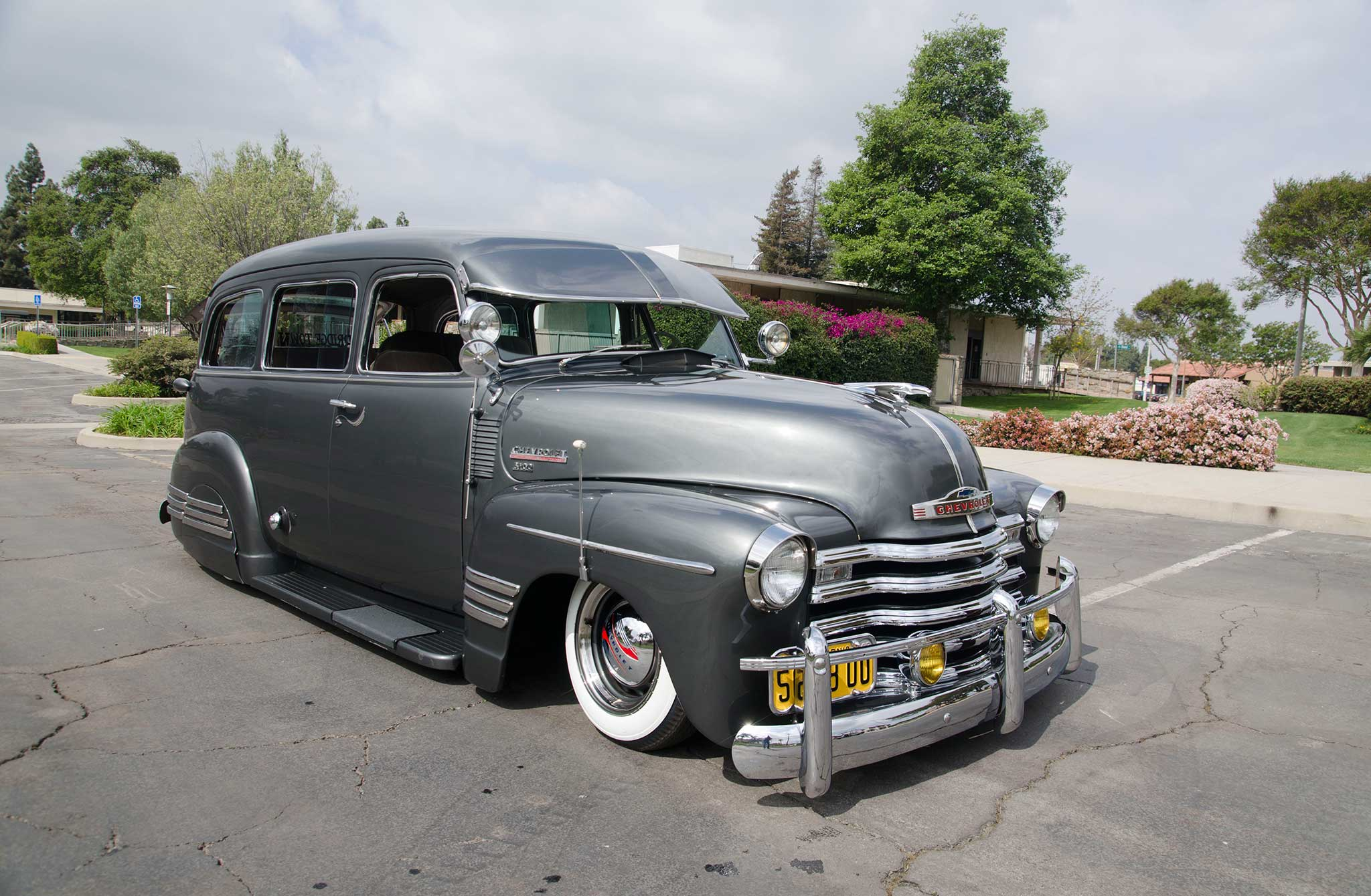 1948 Chevrolet Suburban Bomb Threat