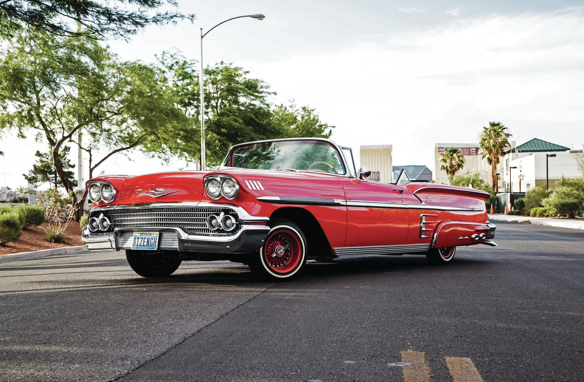1958 chevrolet impala convertible vegas vice. Cars Review. Best American Auto & Cars Review