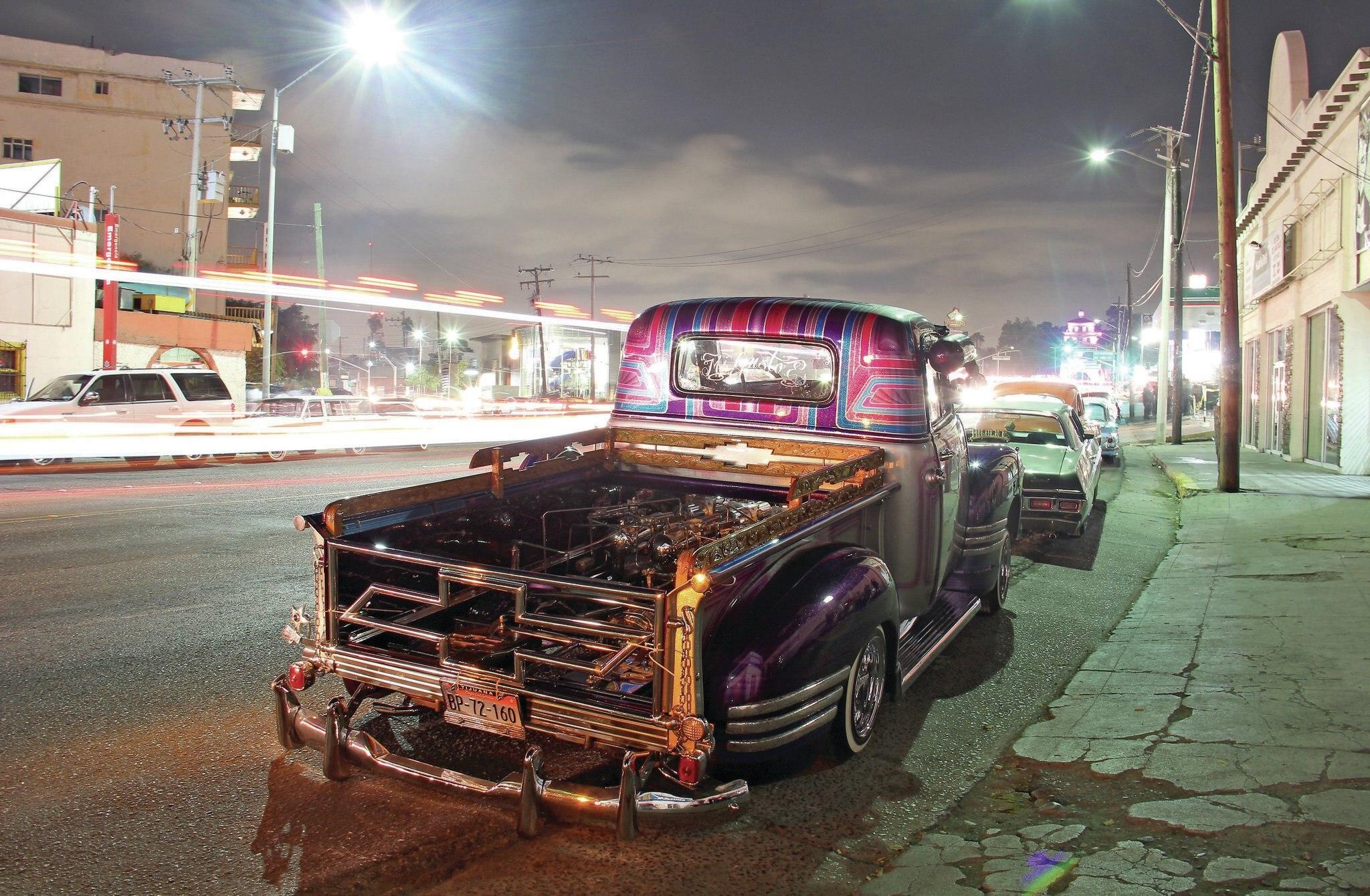Tijuana S La Vuelta Car Meet Cruise Night Lowrider