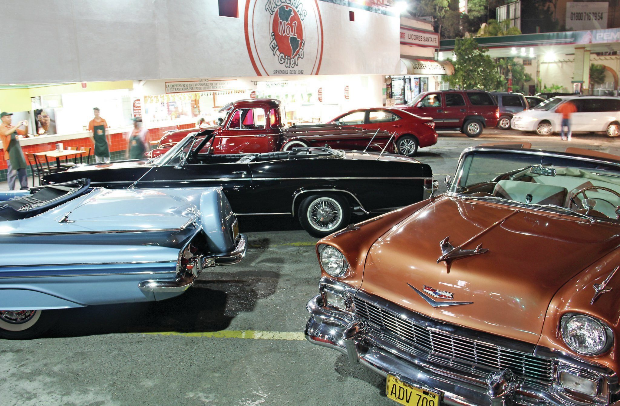 Tijuana S La Vuelta Car Meet Cruise Night Lowrider