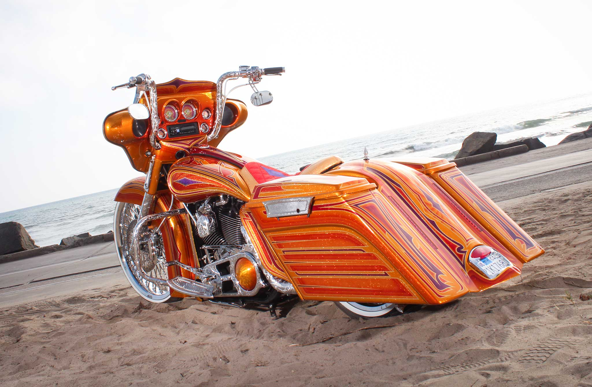 2006 harley davidson street glide chicano style. Black Bedroom Furniture Sets. Home Design Ideas