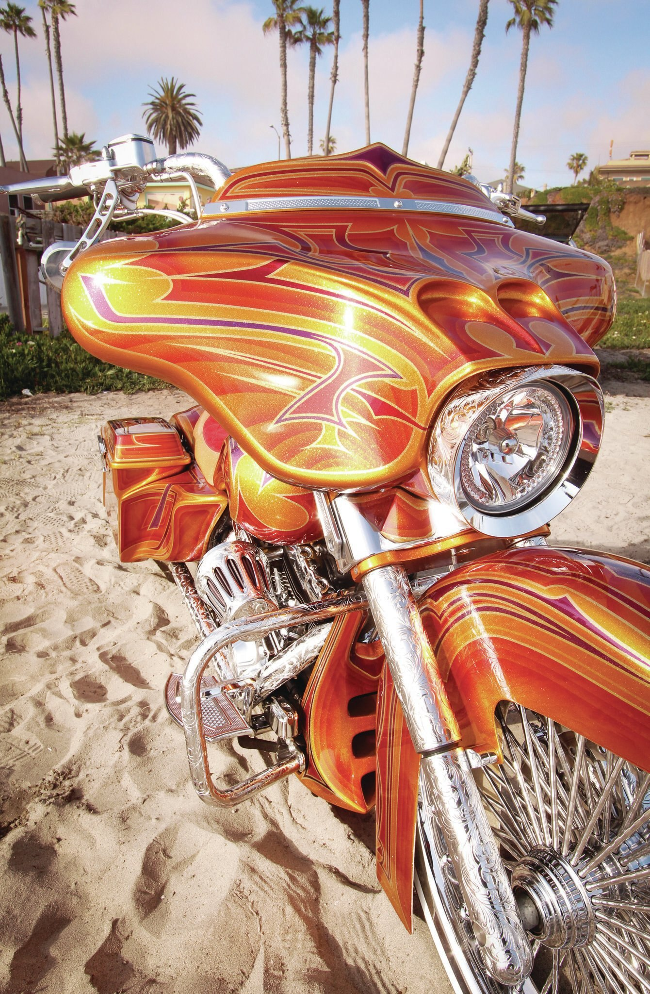2006 Harley Davidson Street Glide Chicano Style