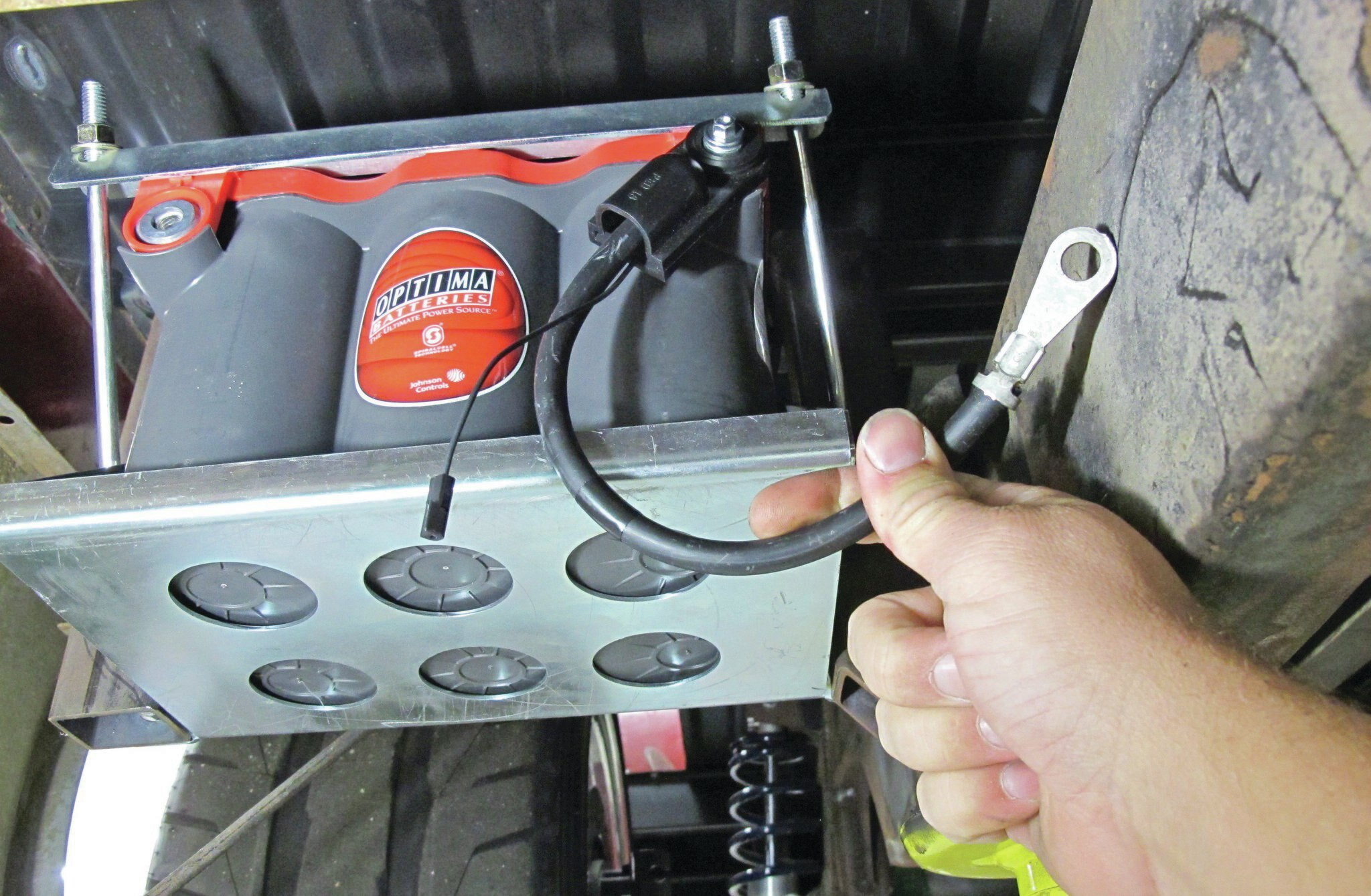 Battery Relocation Amp Preventive Maintenance
