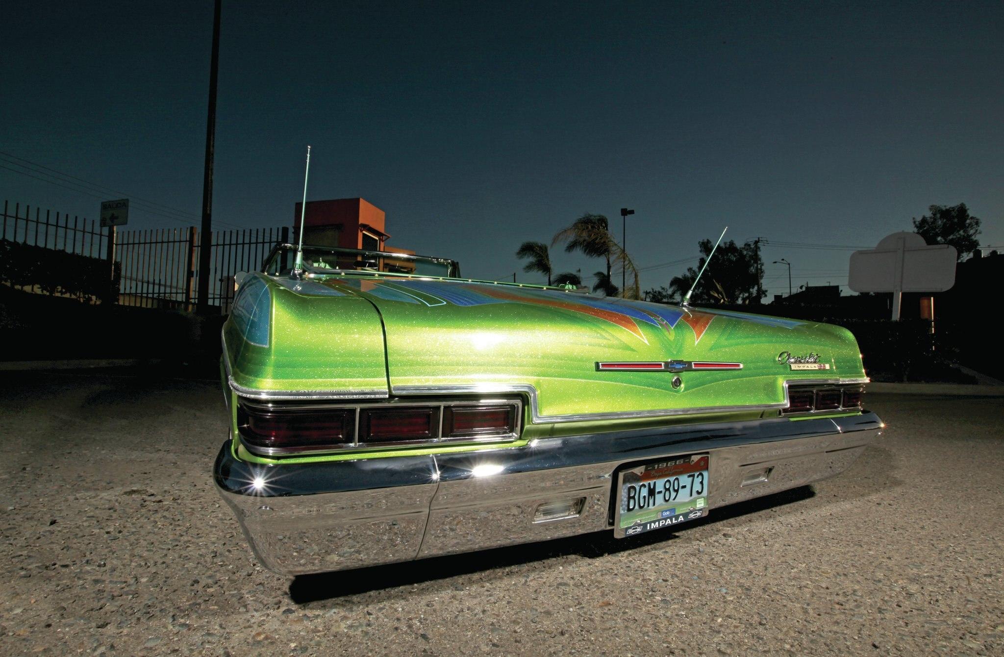 Image 6 Of 50 1966 Chevrolet Impala Sport Part 1954 Chevy Lowrider Super Iguana De Tijuana