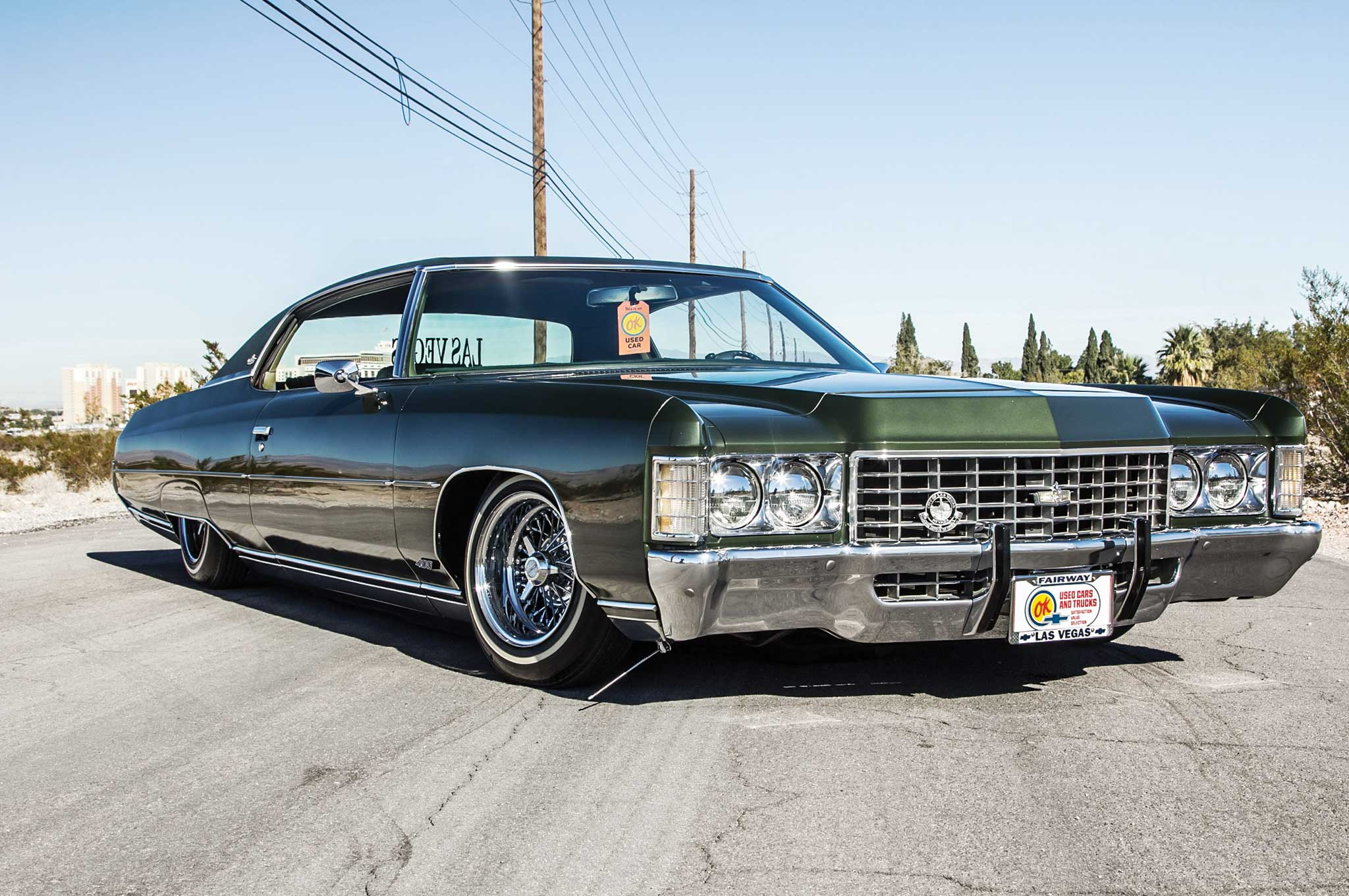 1971 Chevrolet Caprice Frozen In Time Lowrider