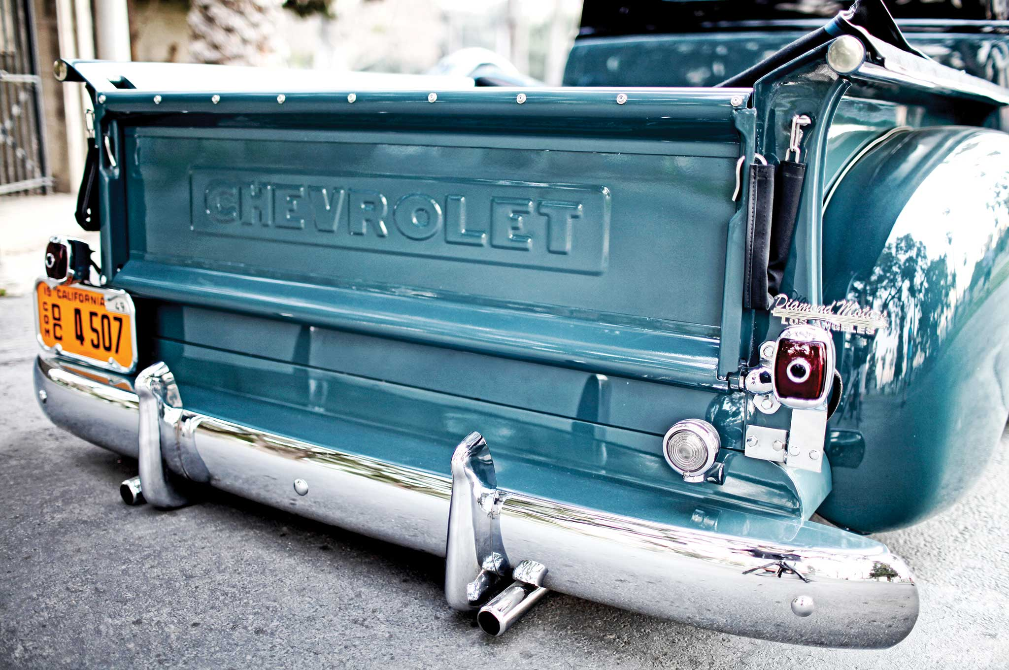 Chevrolet Pickup Tailgate on 1958 Chevy 6 Cylinder