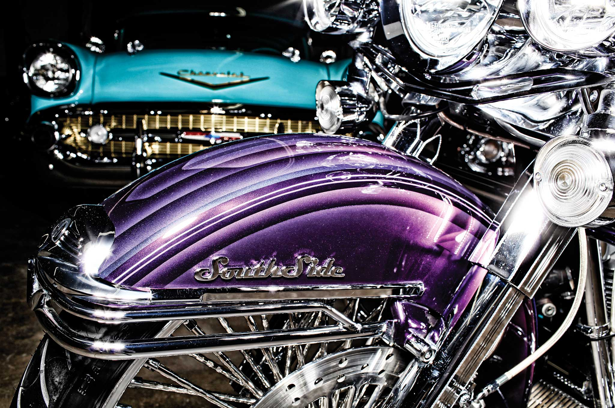 2001 Harley Davidson Road King Mando Lowrider 3 14 Pictures
