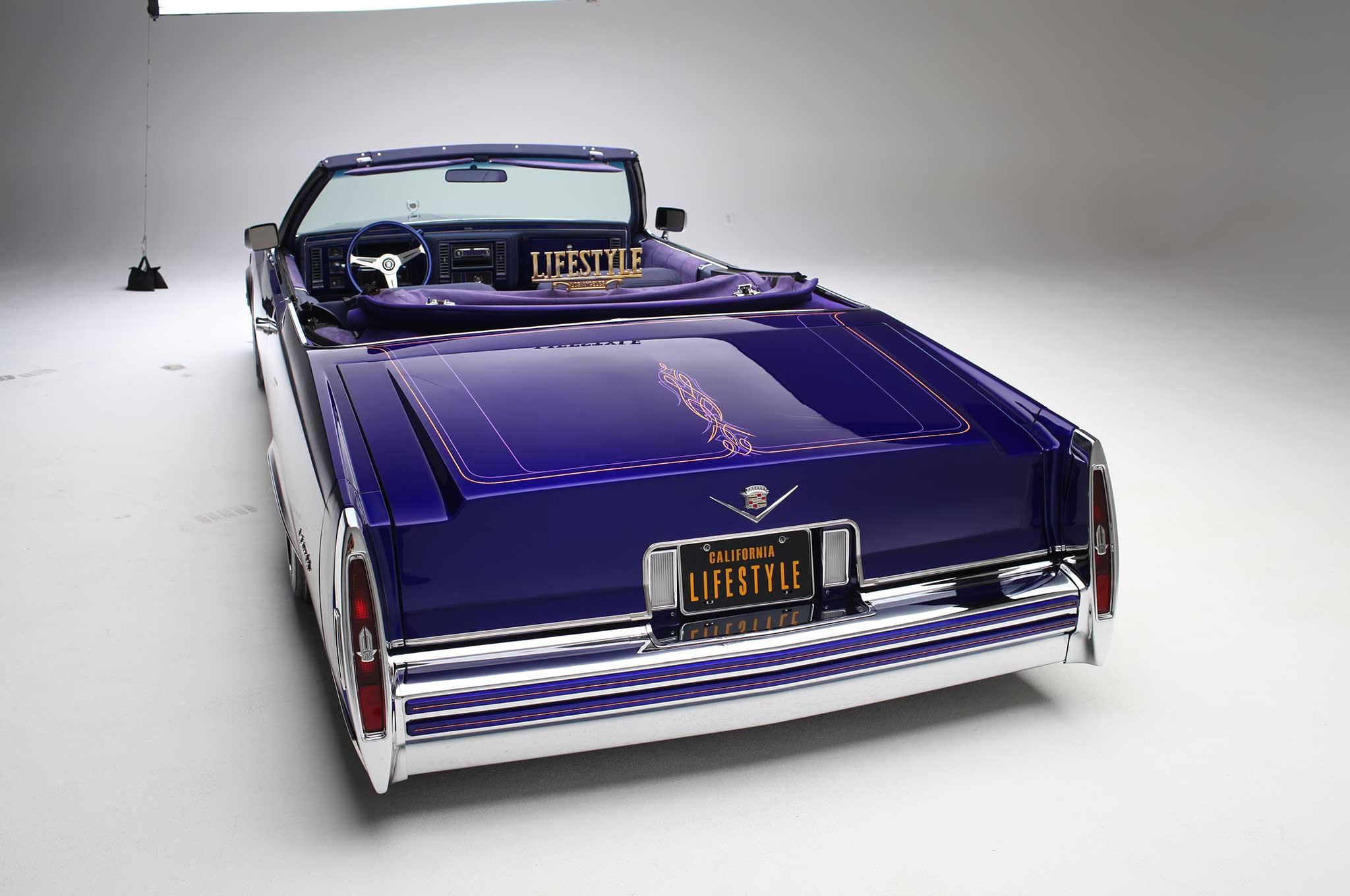 1979 Cadillac Le Cabriolet - Purple Rein - Lowrider