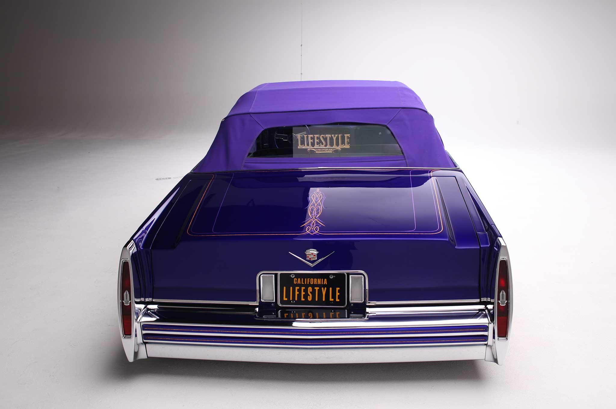 1979 Cadillac Le Cabriolet Purple Rein Lowrider