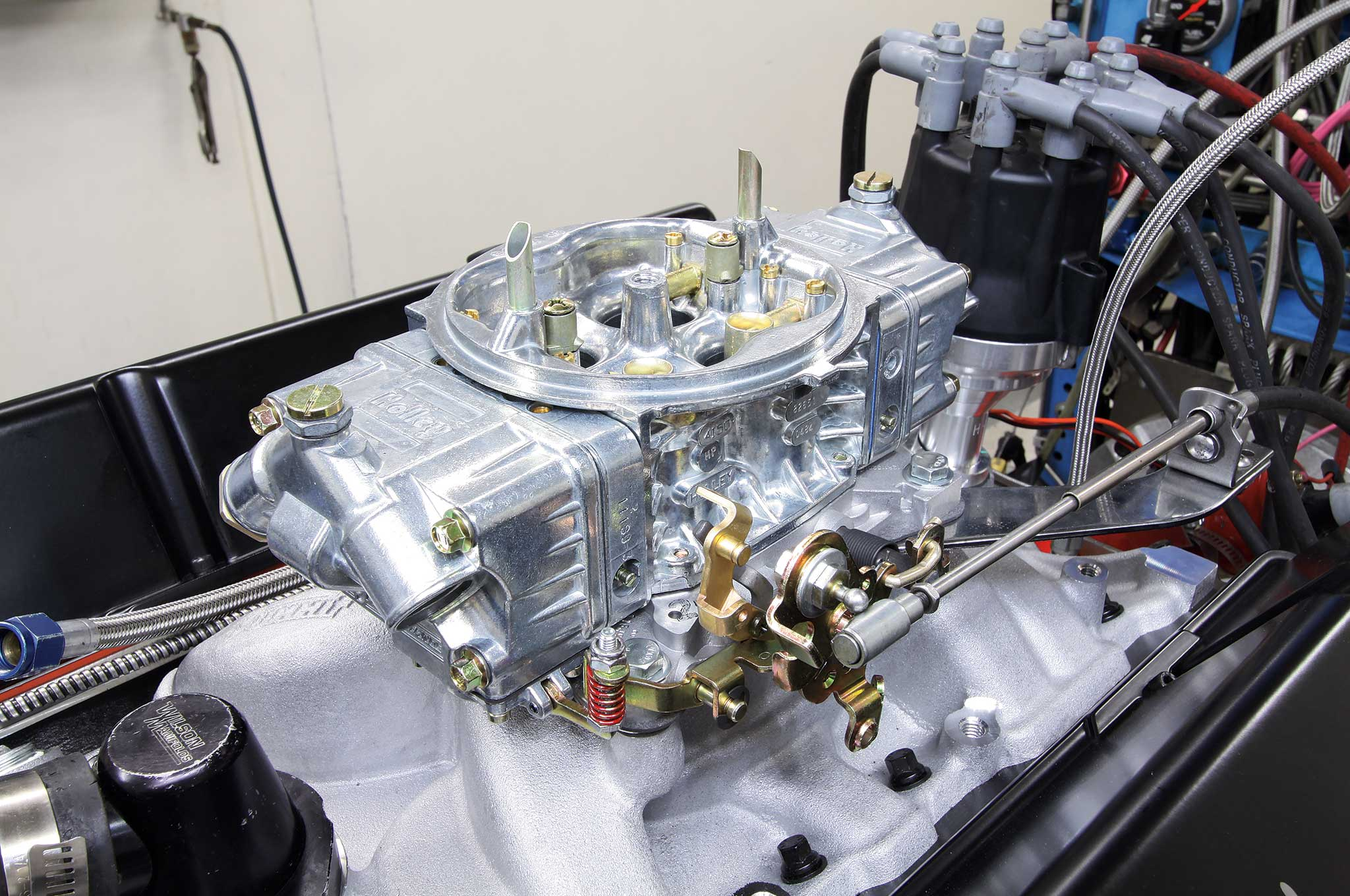 rebuilding a small block on a budget holley street hp carb 4 bbl
