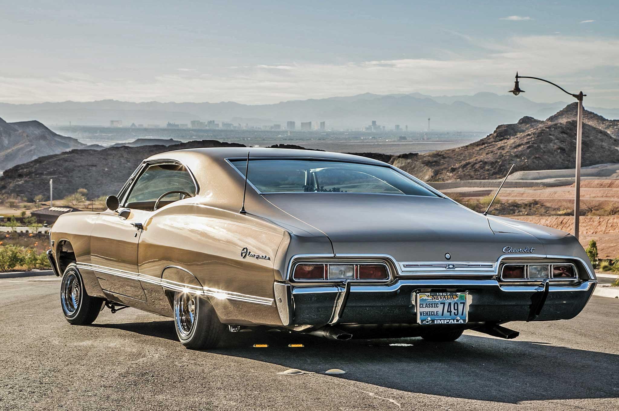 001 1967 chevrolet impala taillights