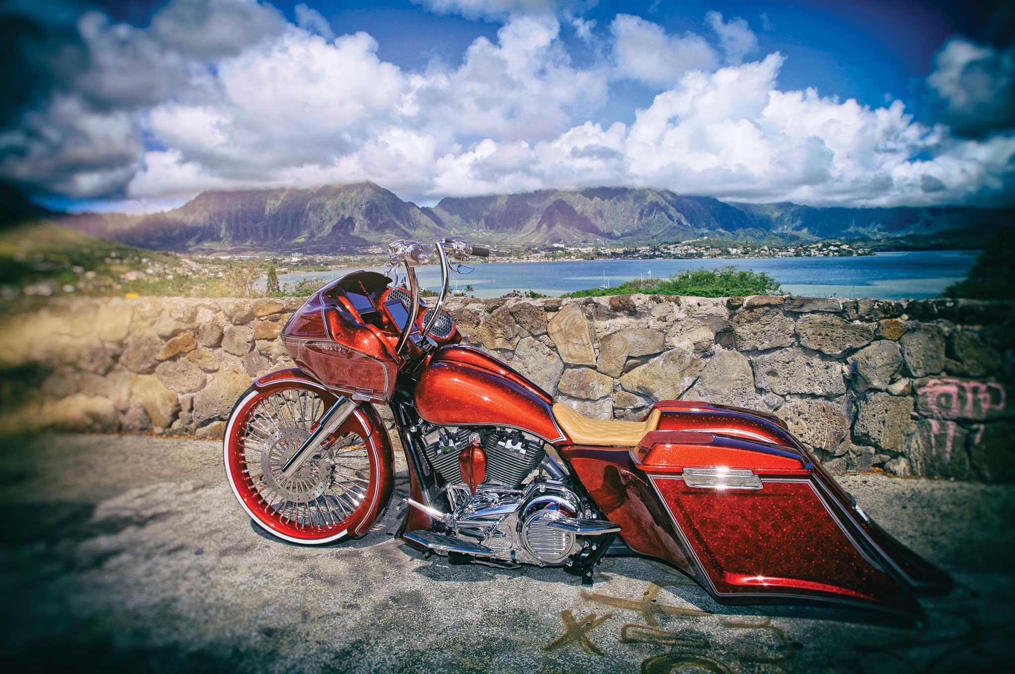 15 Inch Tires >> 2013 Harley-Davidson Road Glide - Gliding in Paradise ...