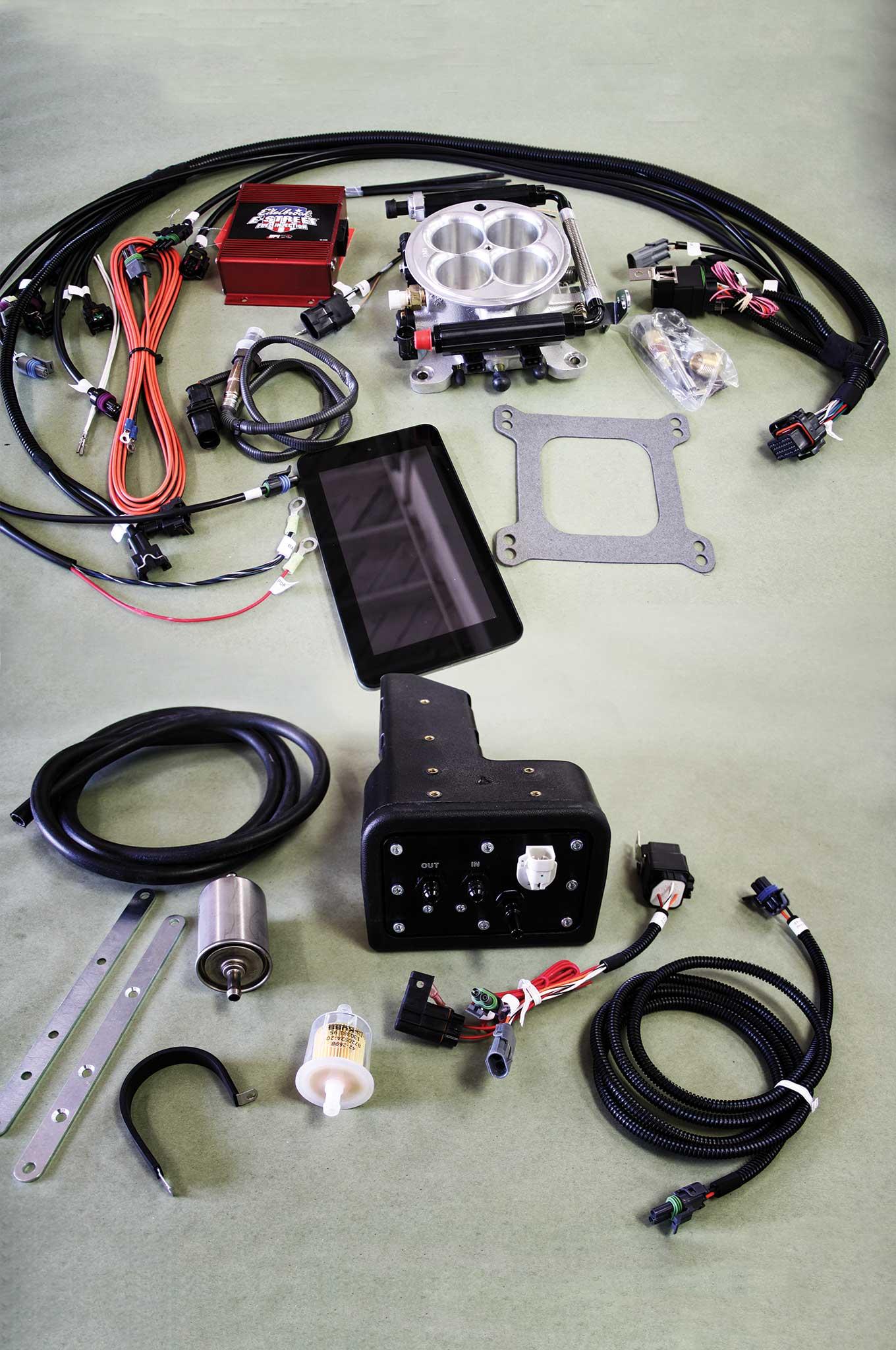 001 e street efi system conversion part 1 edelbrock e street efi system kit