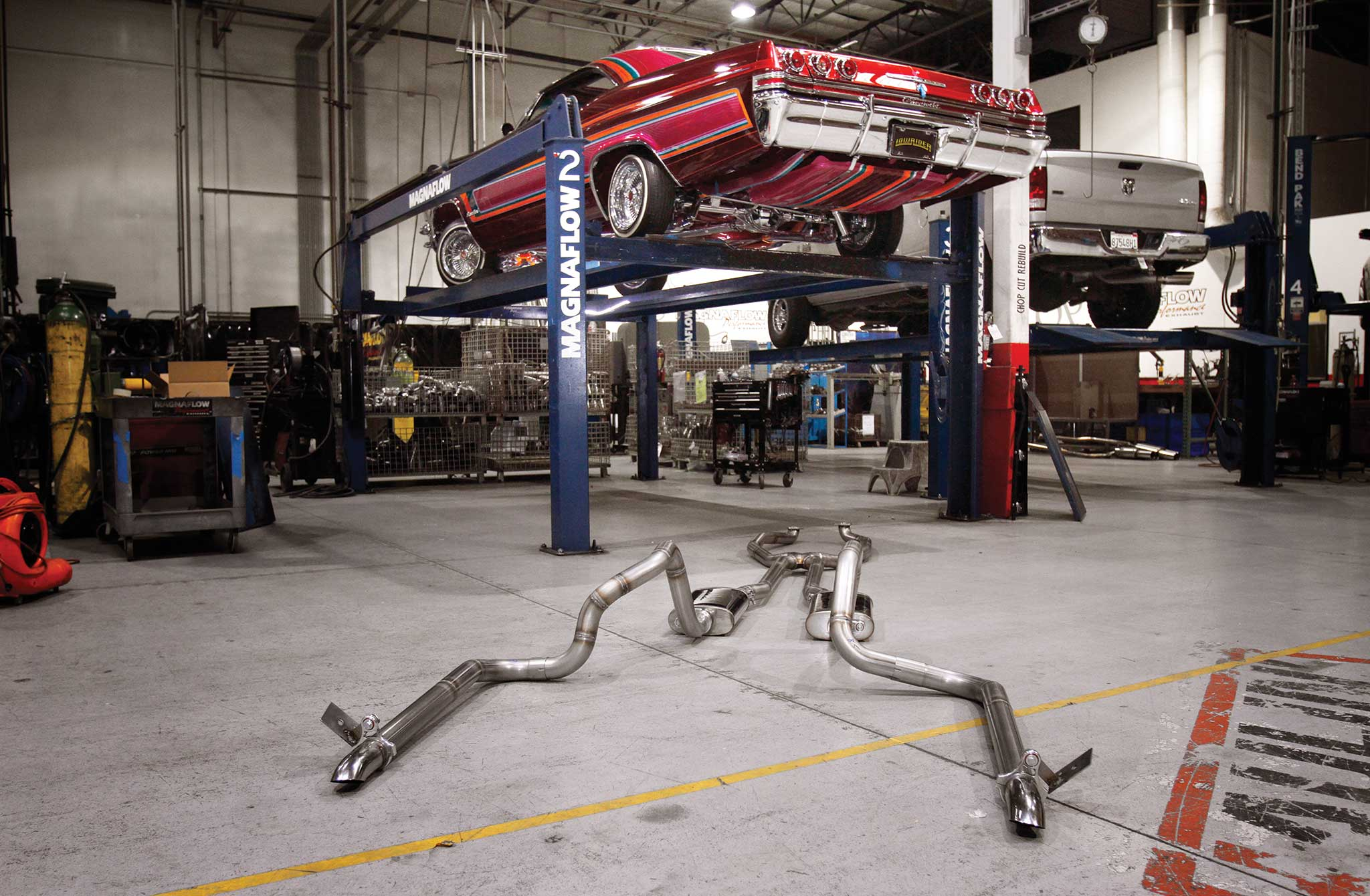 001 magnaflow exhaust install 65 impala