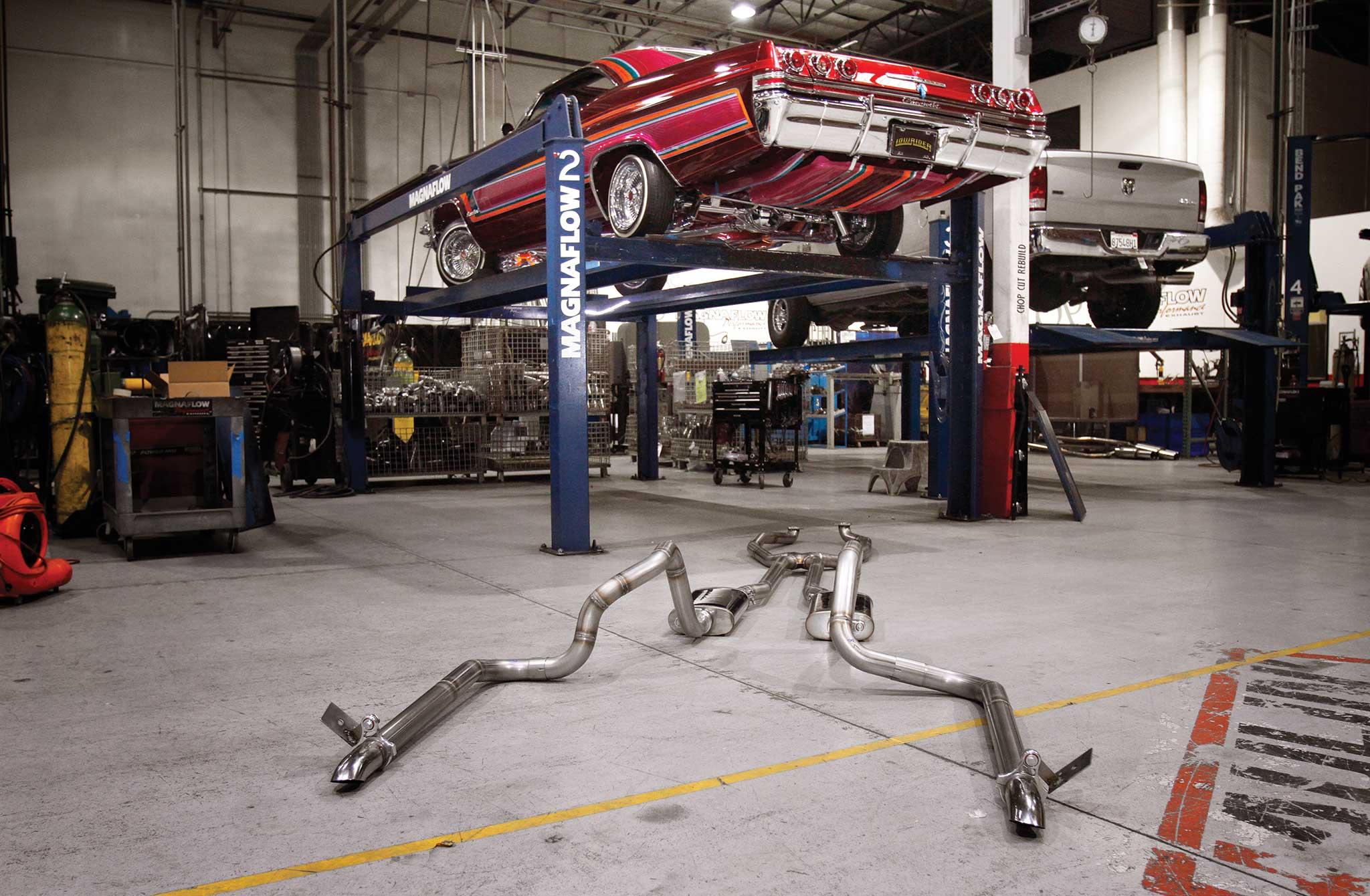 001 magnaflow exhaust install 65 impala