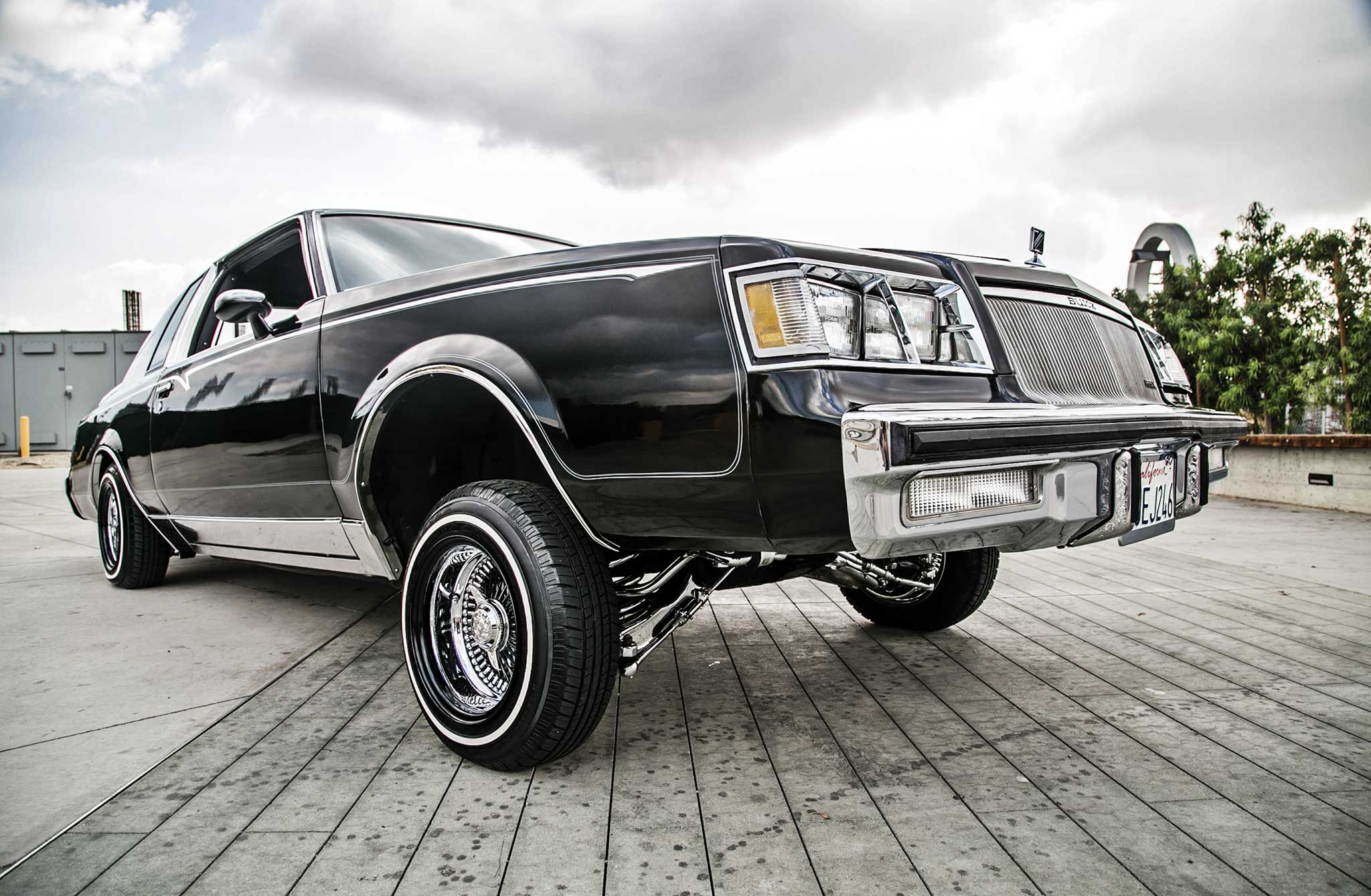 1984 buick regal it 39 s all relative lowrider. Black Bedroom Furniture Sets. Home Design Ideas