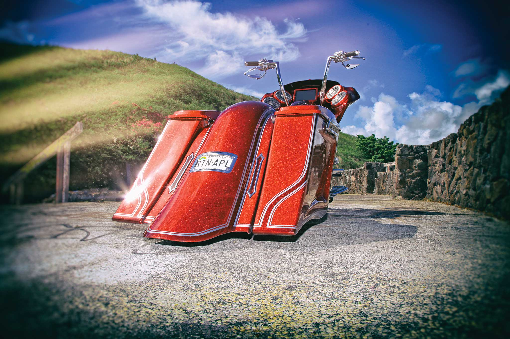 005 2013 harley davidson road glide rear fenders