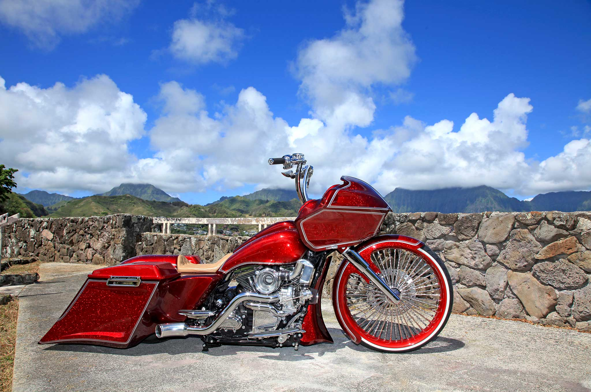 17 Inch Low Profile Tires >> 2013 Harley-Davidson Road Glide - Gliding in Paradise ...
