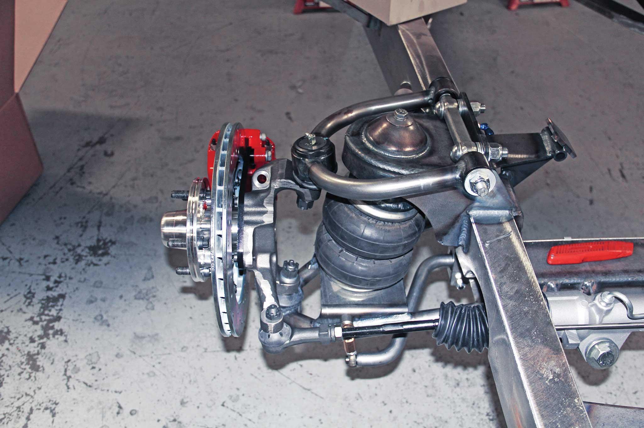 008 assembling a tci truck frame wilwood disc brake system
