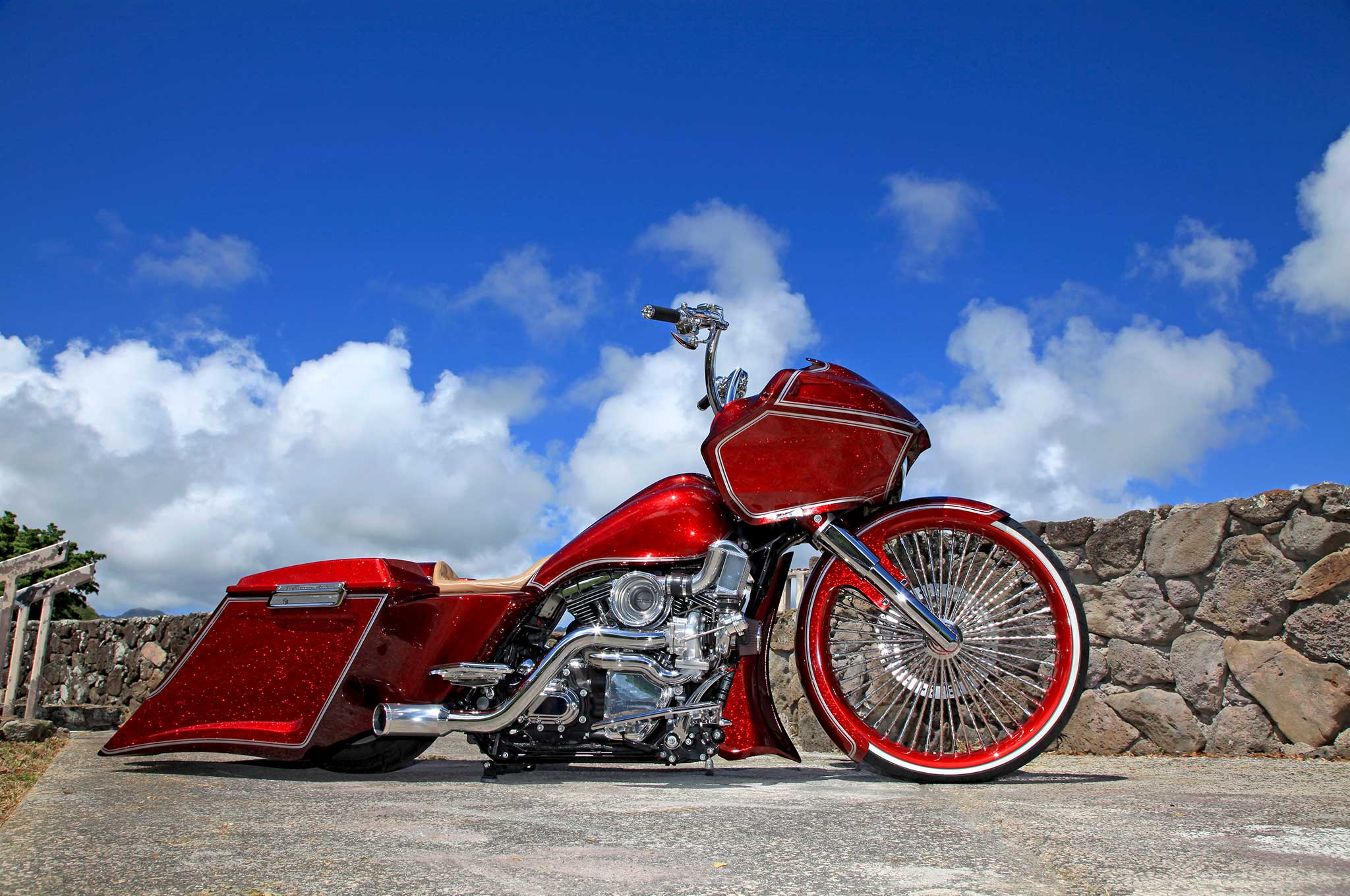 2013 harley davidson road glide gliding in paradise lowrider. Black Bedroom Furniture Sets. Home Design Ideas