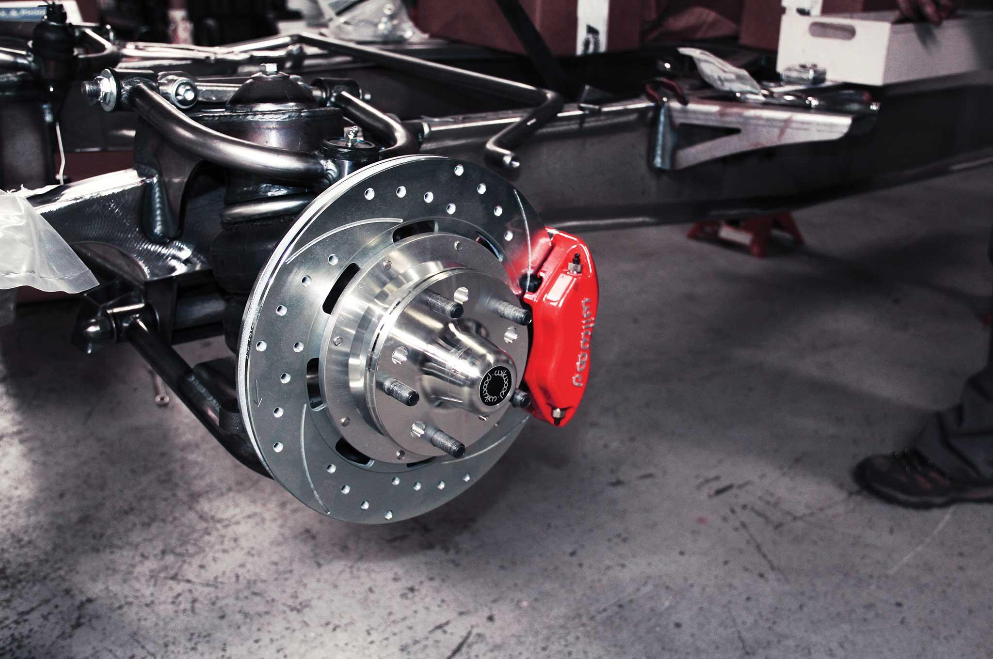 009 assembling a tci truck frame wilwood sic brake system