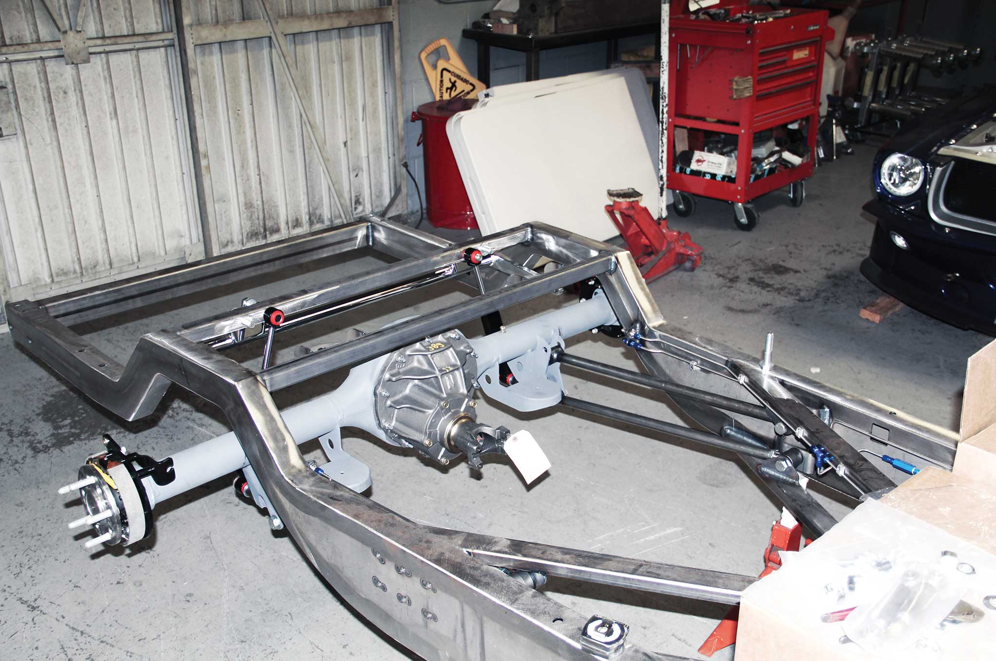 011 assembling a tci truck frame currie 9 rear end