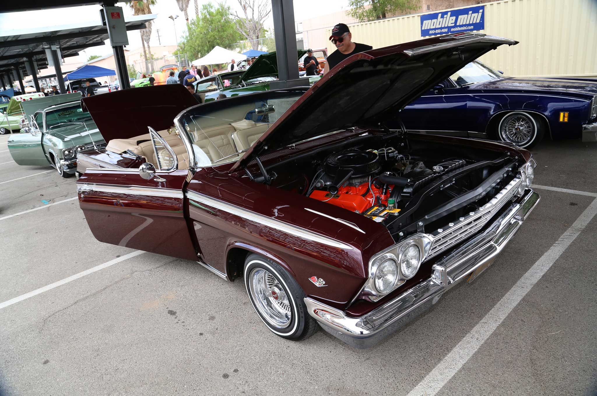 oldies sfv 2015 car show and concert chevy impala convertible