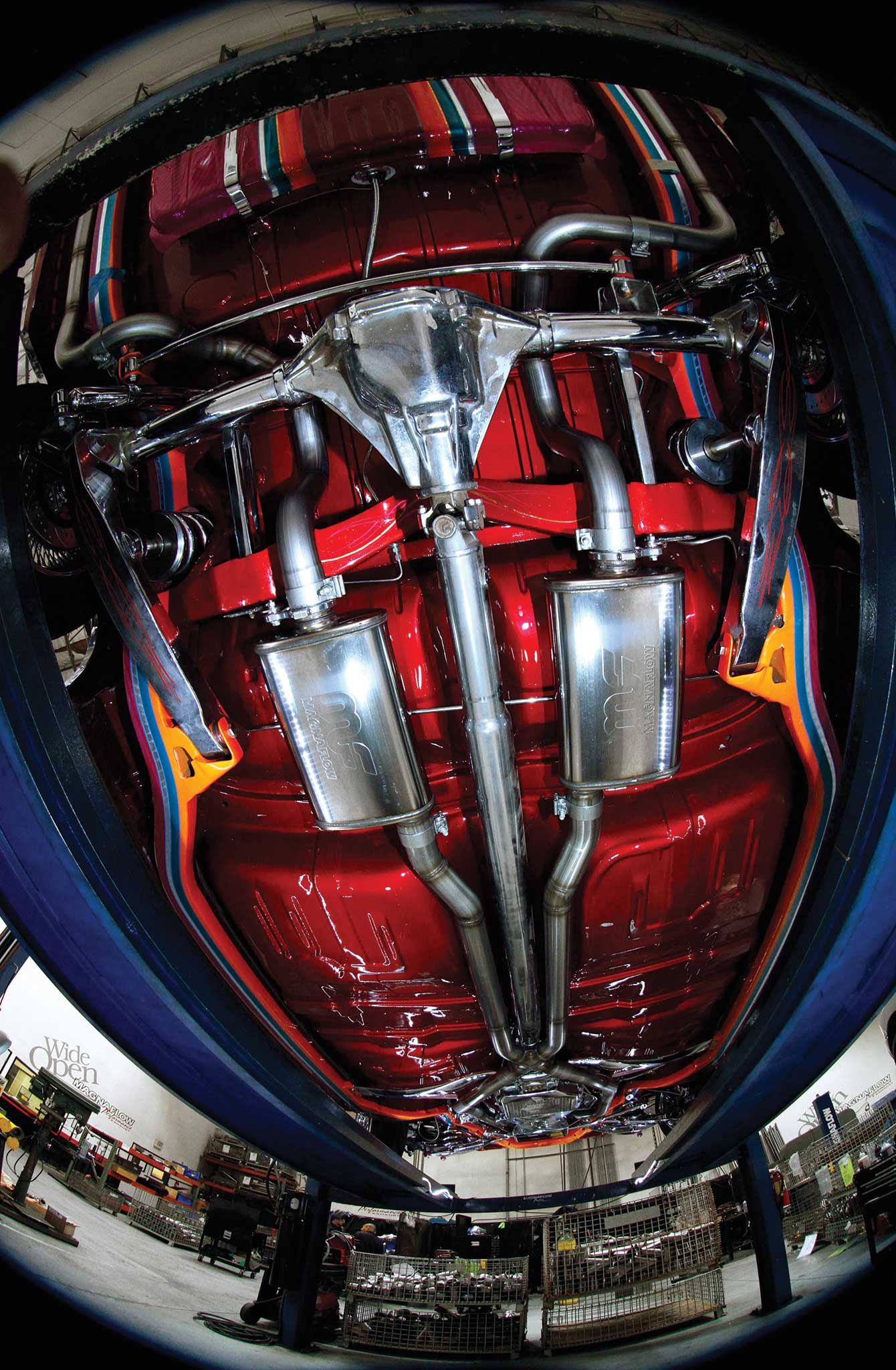 018 magnaflow exhaust install