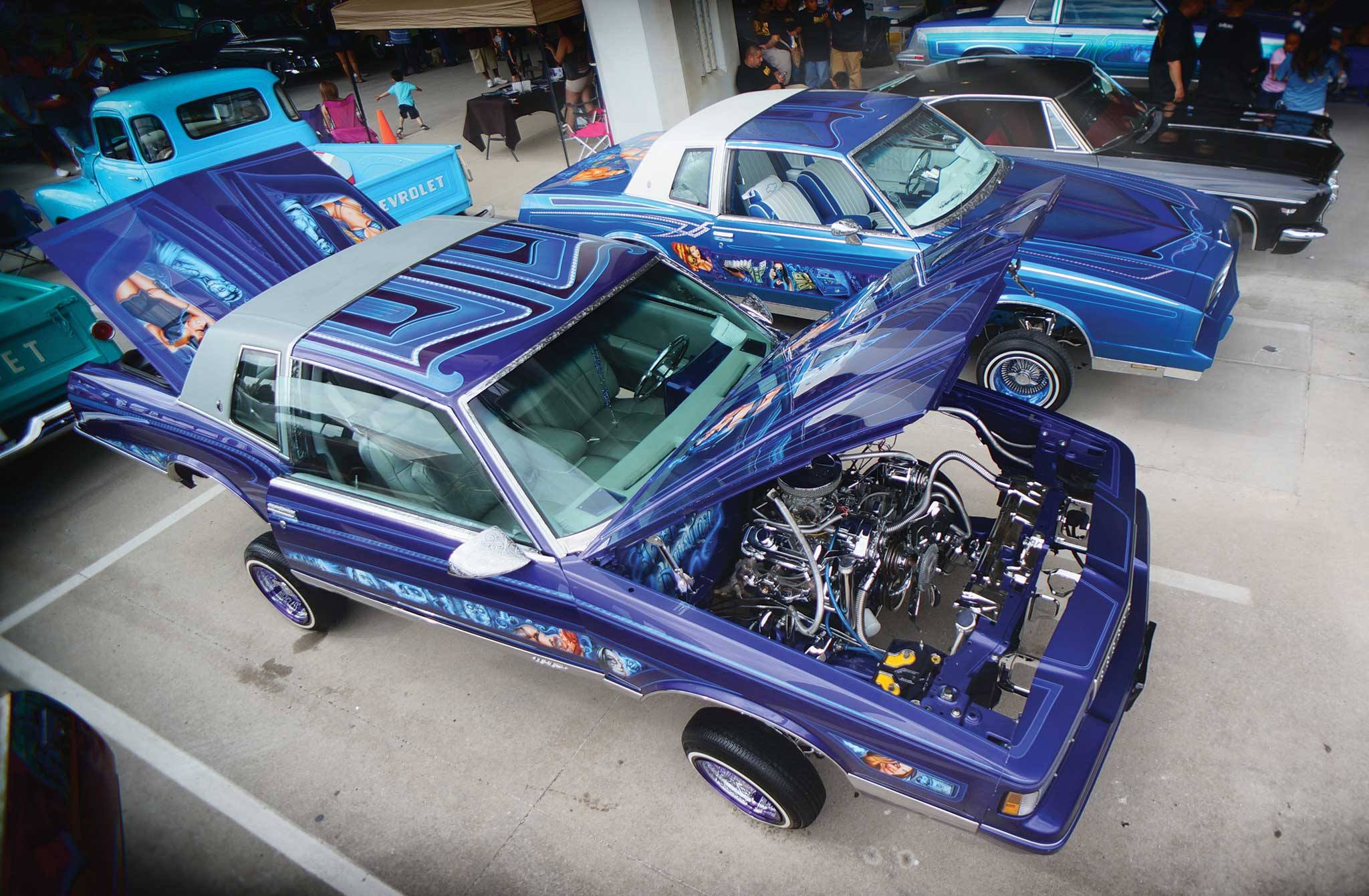 Family is a huge part of the lowrider culture, and it was everywhere to be seen at this event.