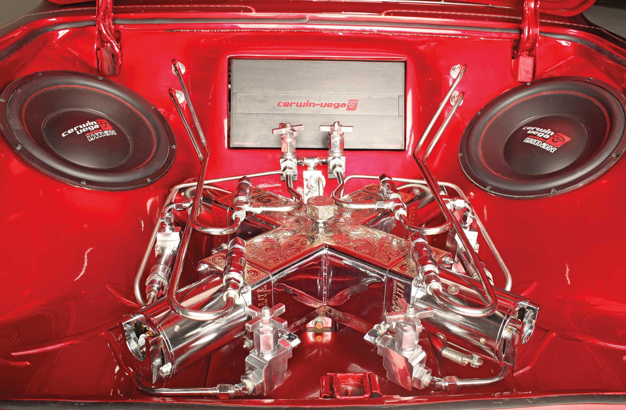 005 1961 chevrolet impala convertible hydraulics pump setup