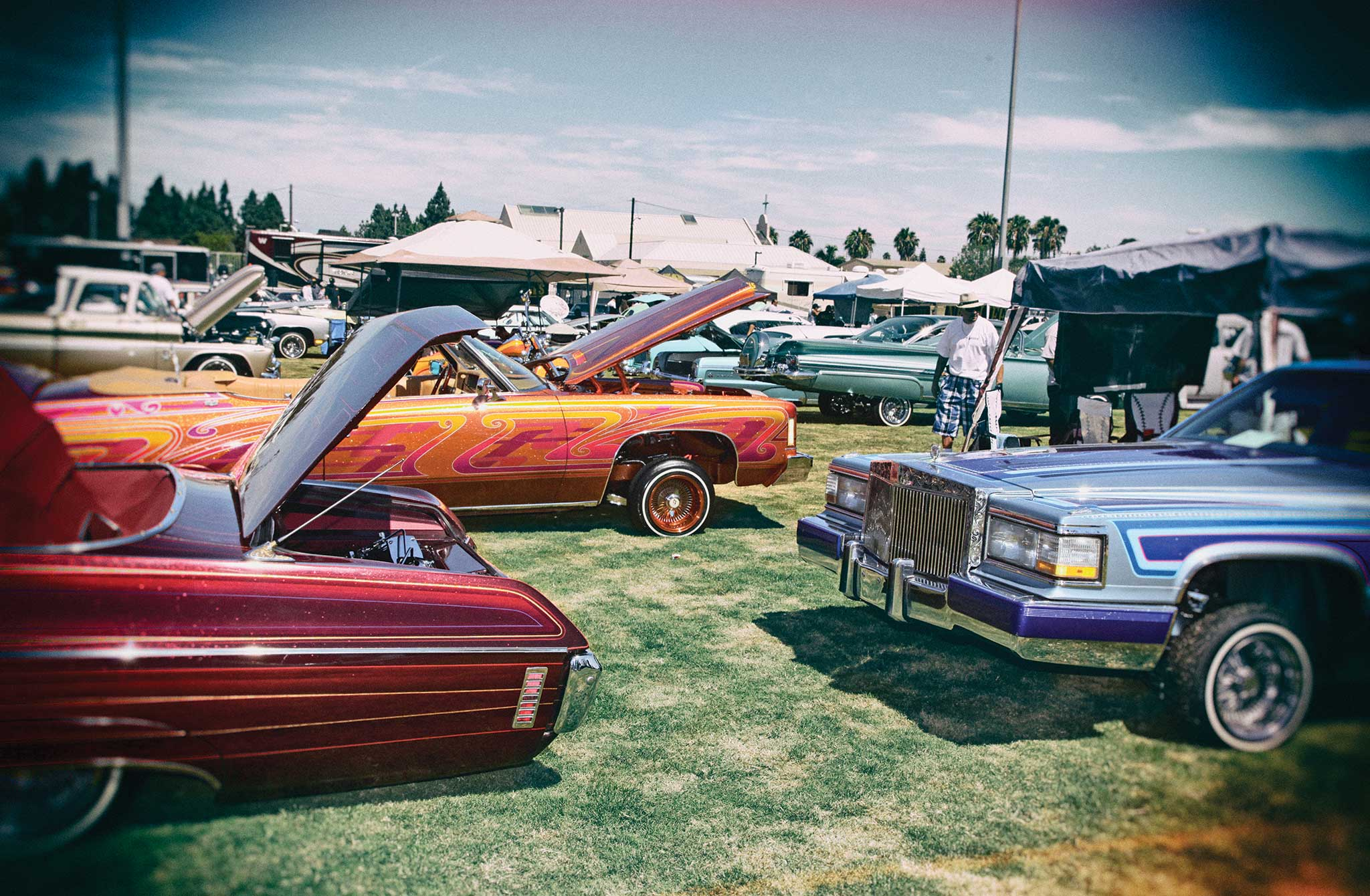13th Annual Imperials Car Show Concert Lowrider