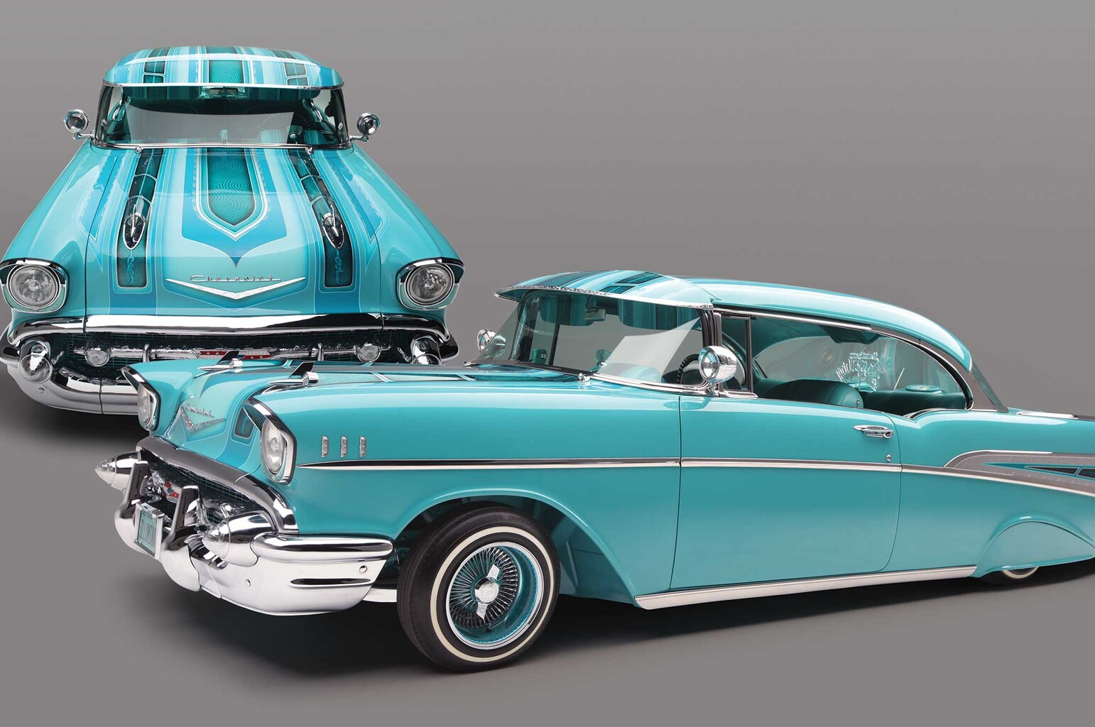 1957 chevrolet bel air modern day monarch lowrider. Black Bedroom Furniture Sets. Home Design Ideas
