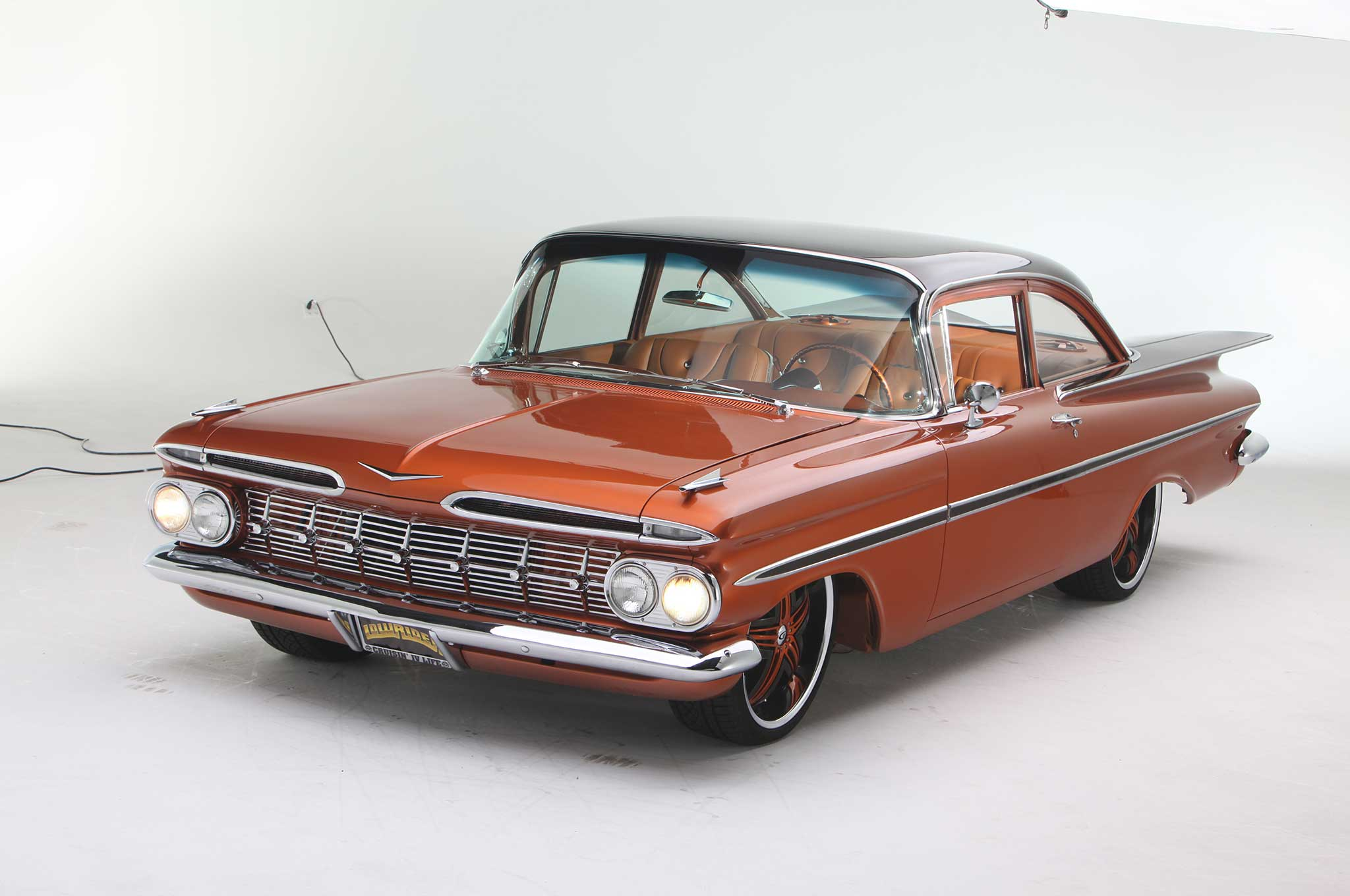 1959 Chevrolet Bel Air The Perfect Couple Lowrider